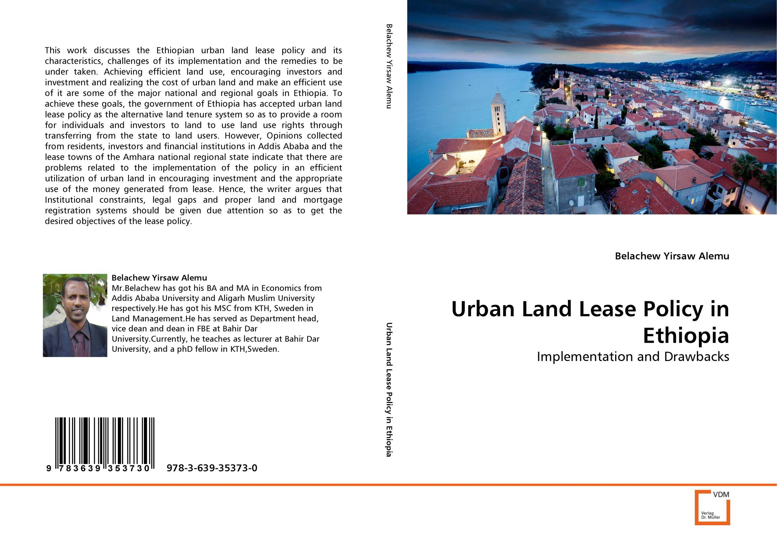 Urban Land Lease Policy in Ethiopia land of savagery land of promise – the european image of the american