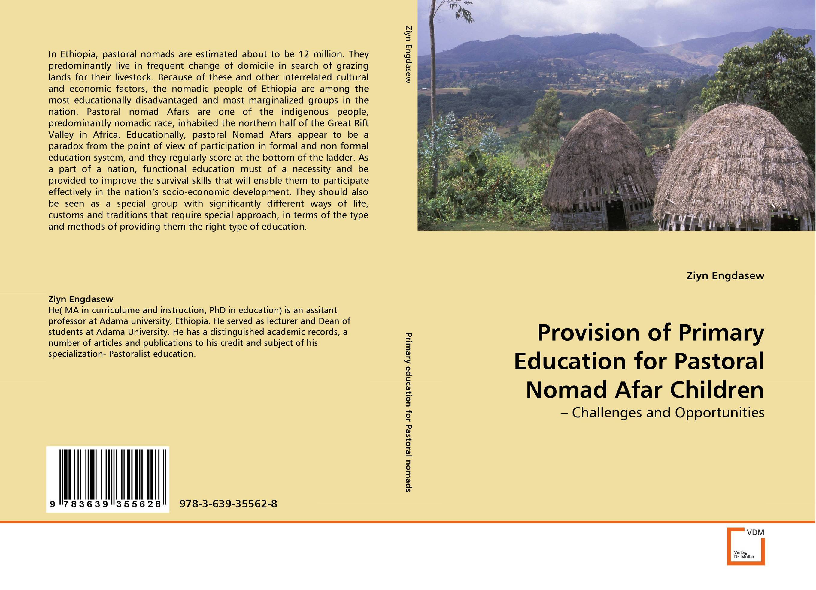 Provision of Primary Education for Pastoral Nomad Afar Children
