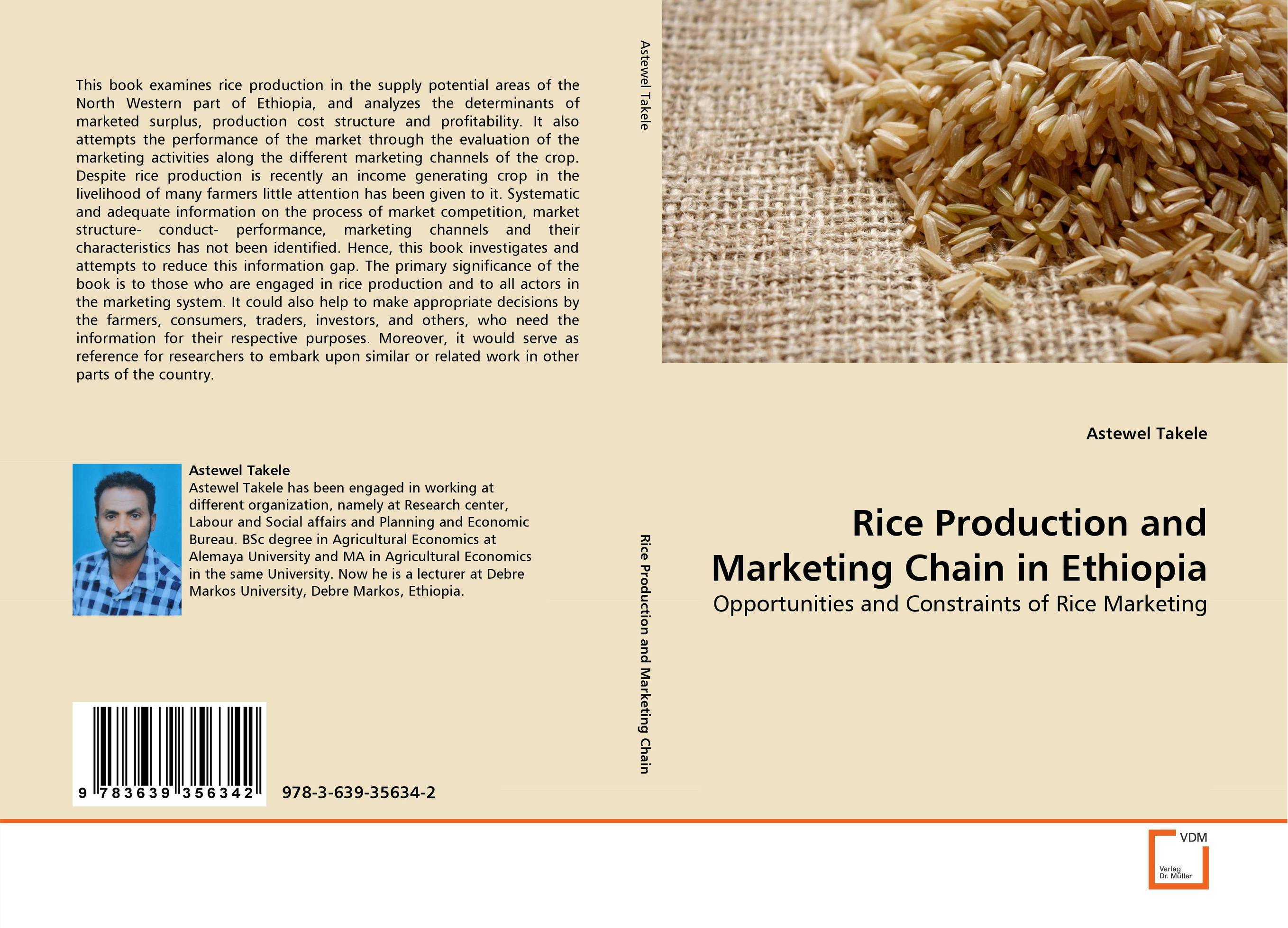 Rice Production and Marketing Chain in Ethiopia adding value to the citrus pulp by enzyme biotechnology production