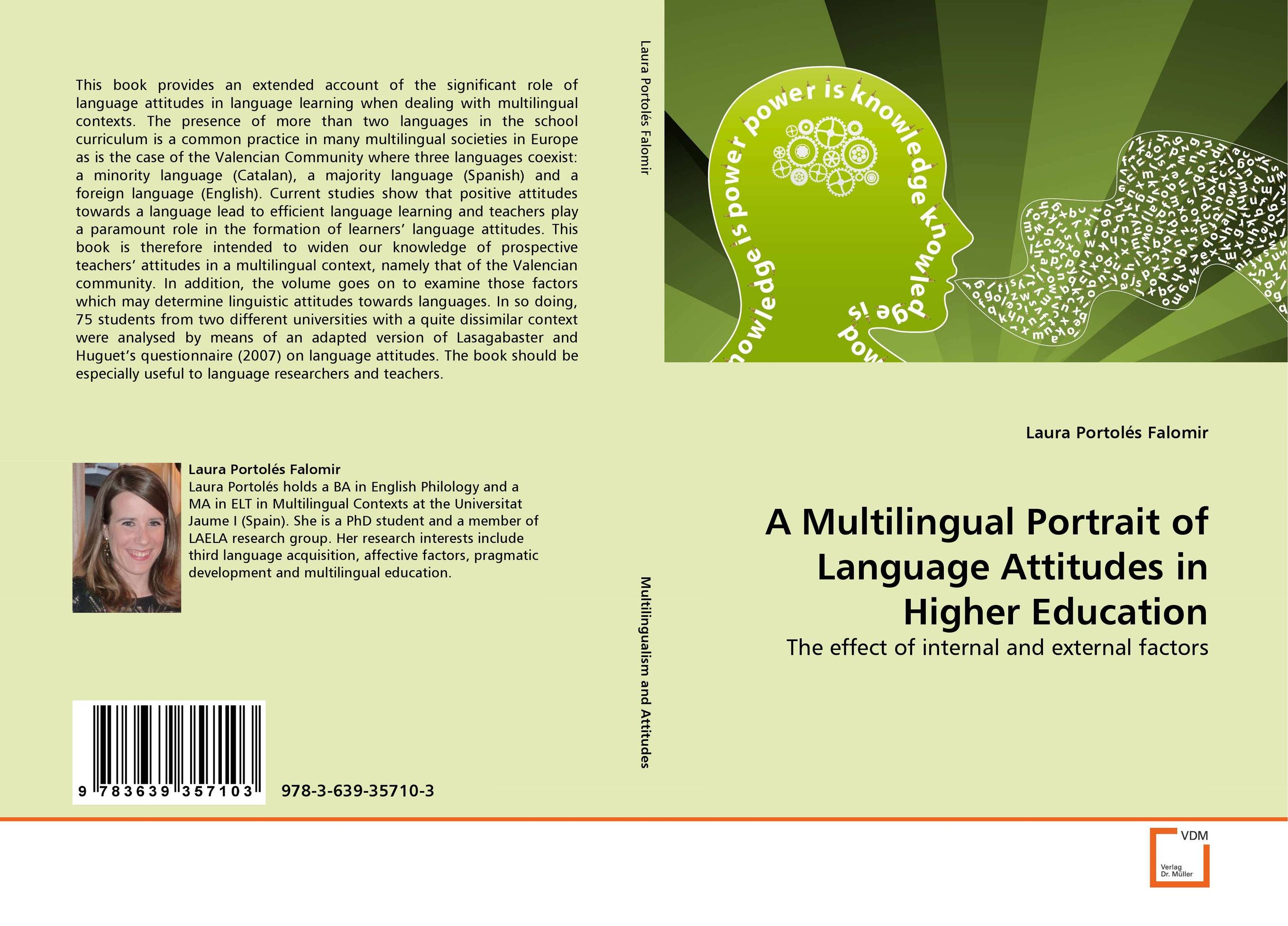 A Multilingual Portrait of Language Attitudes in Higher Education identity construction and language attitudes towards english in spain