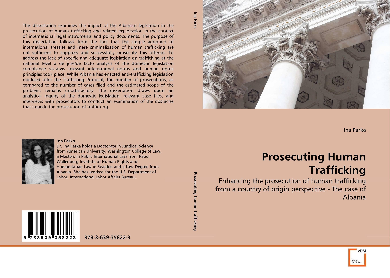 Prosecuting Human Trafficking