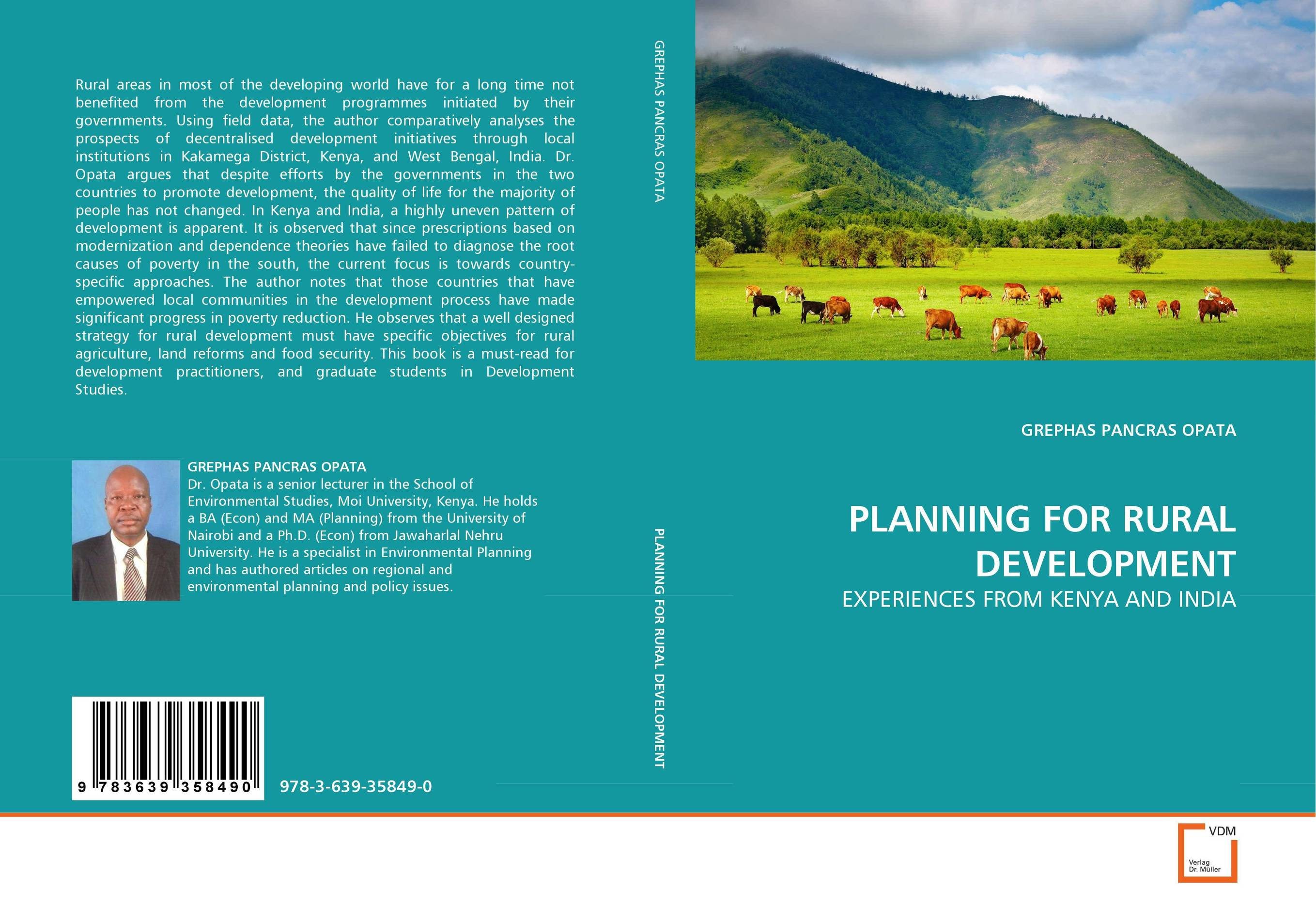 PLANNING FOR RURAL DEVELOPMENT poverty and development in rural india