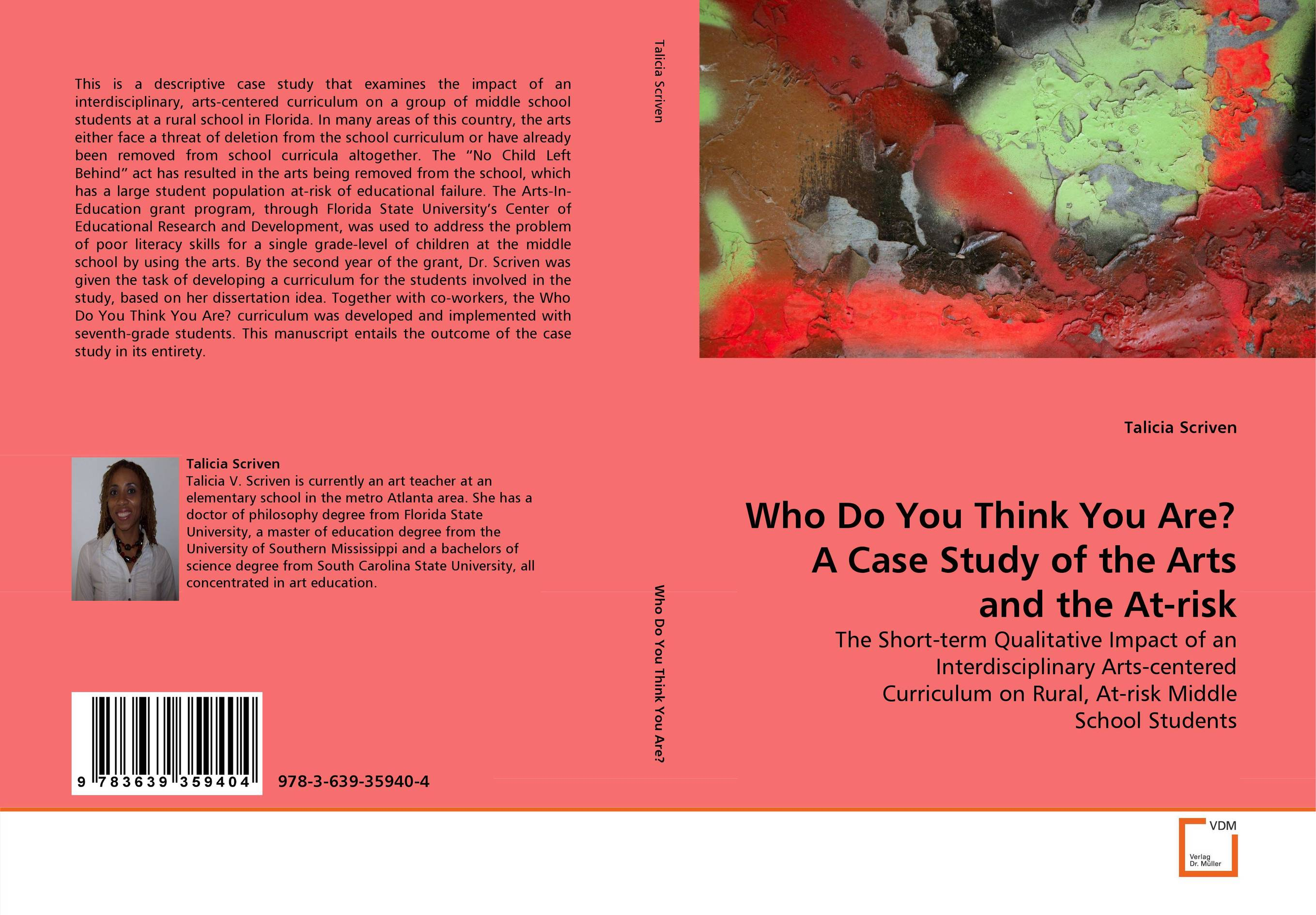 Who Do You Think You Are? A Case Study of the Arts and the At-risk laxmi paudyal intended and implemented curriculum of school health program in nepal