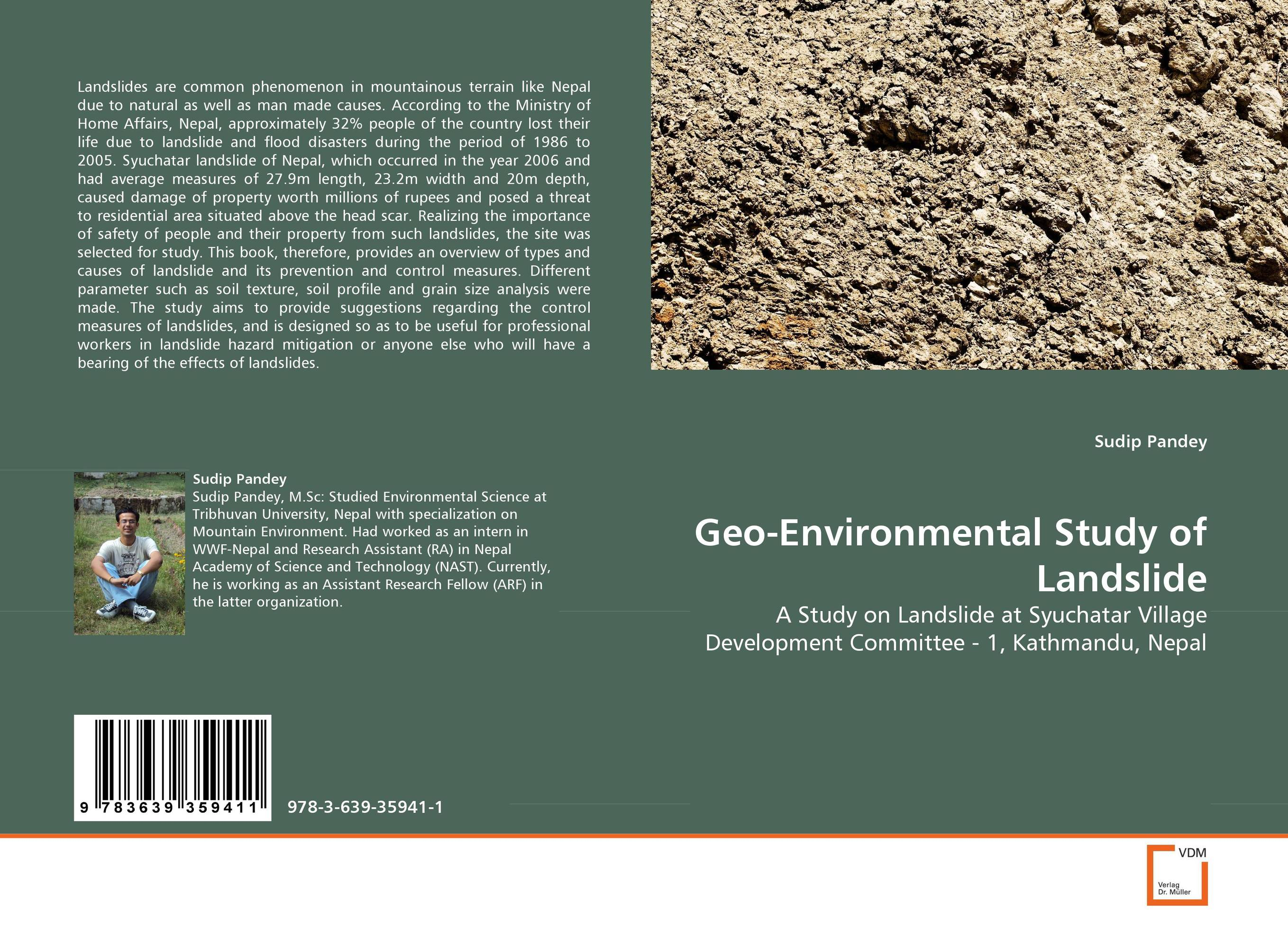 купить Geo-Environmental Study of Landslide недорого