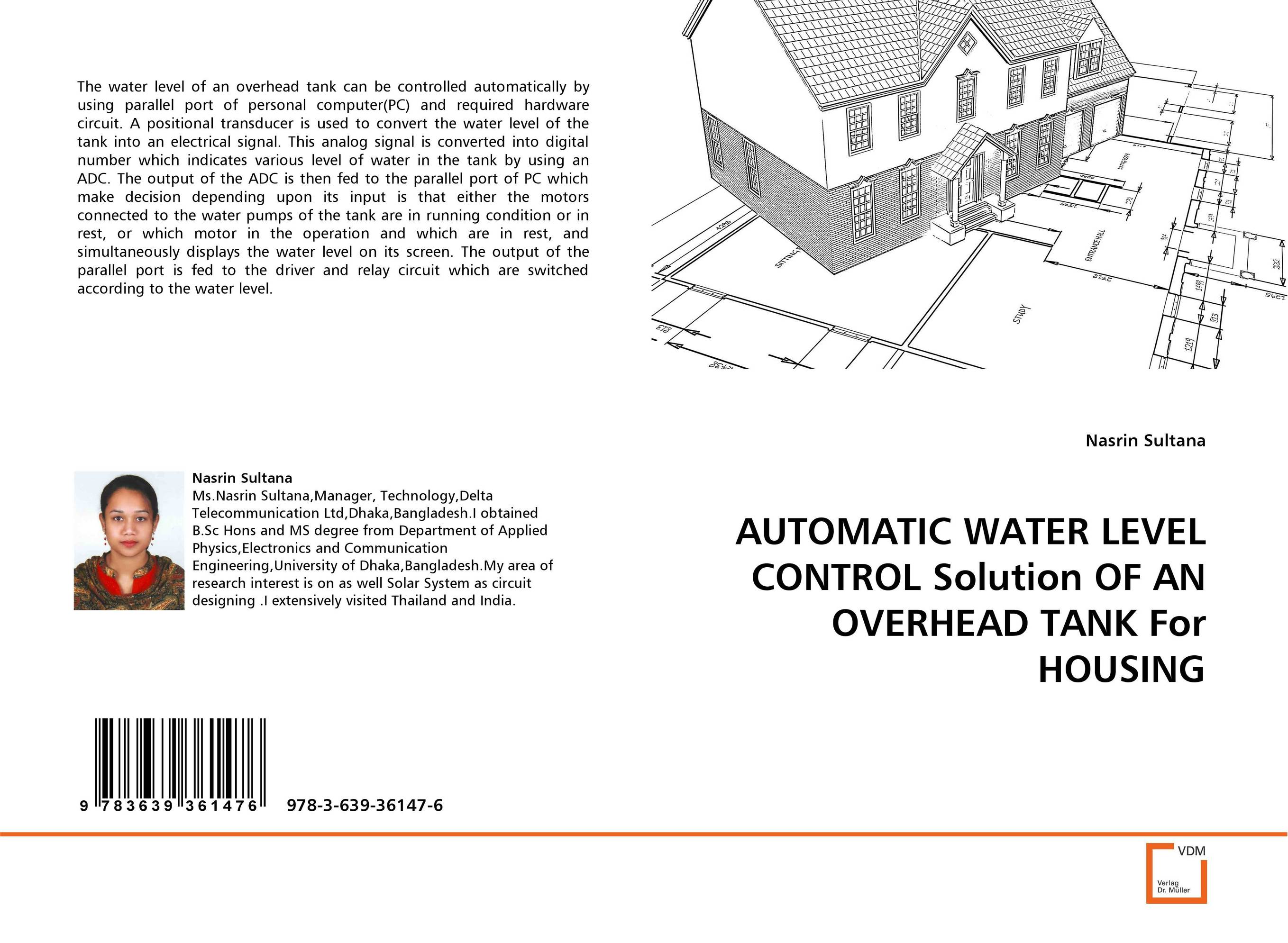 AUTOMATIC WATER LEVEL CONTROL Solution OF AN OVERHEAD TANK For HOUSING automatic water level control solution of an overhead tank for housing