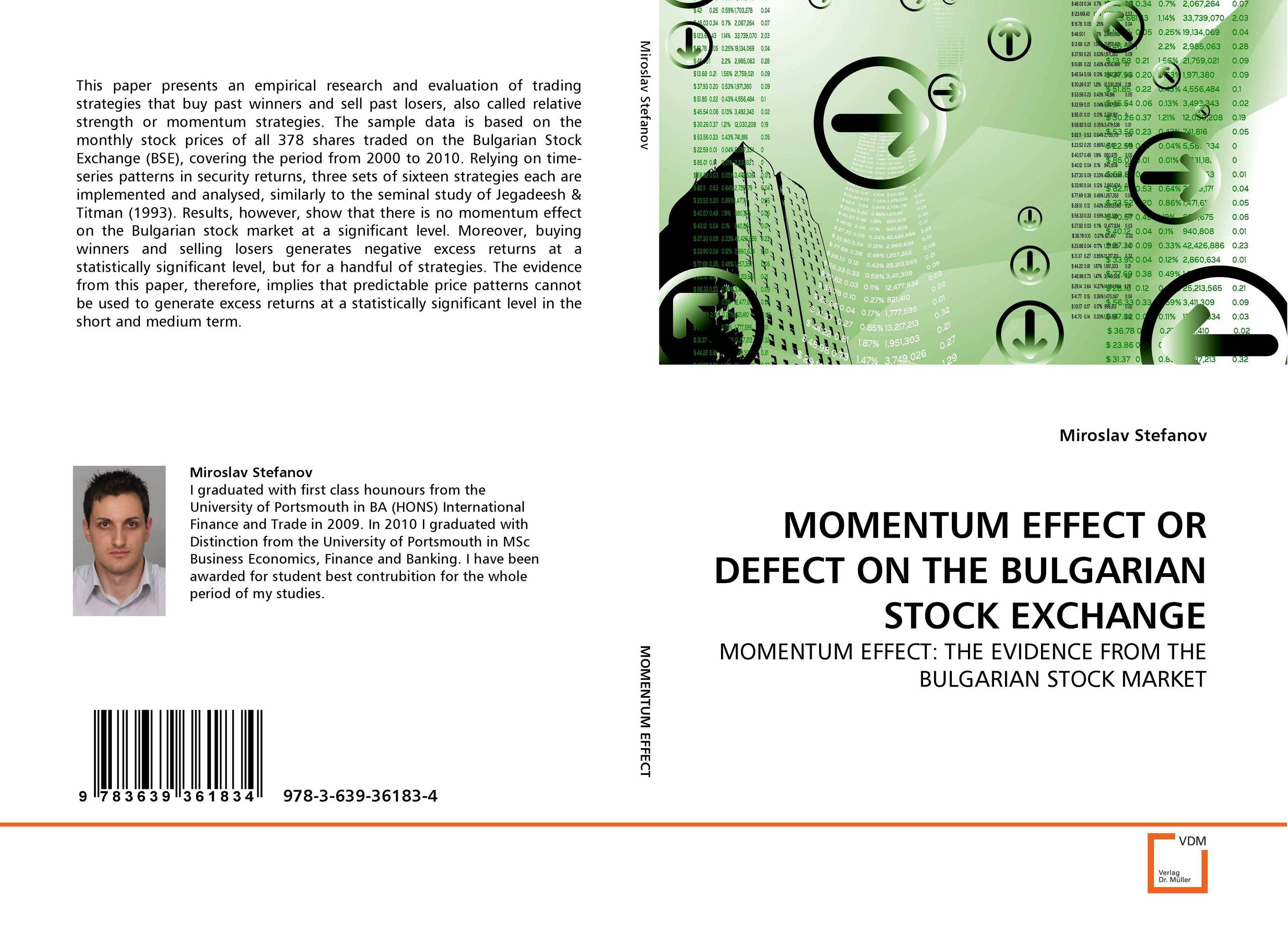 MOMENTUM EFFECT OR DEFECT ON THE BULGARIAN STOCK EXCHANGE