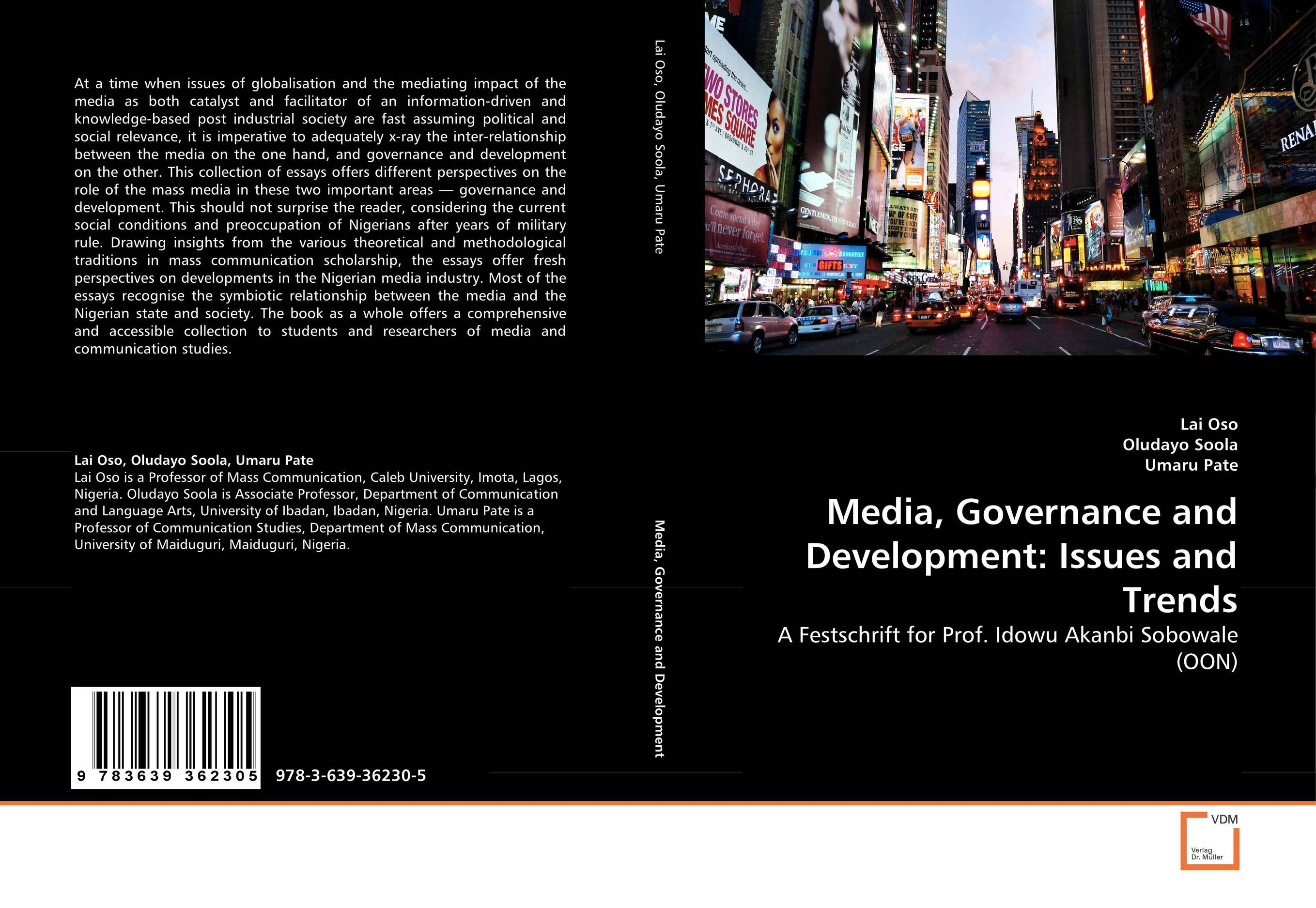 Media, Governance and Development: Issues and Trends shakespeare after mass media [9780312294540]