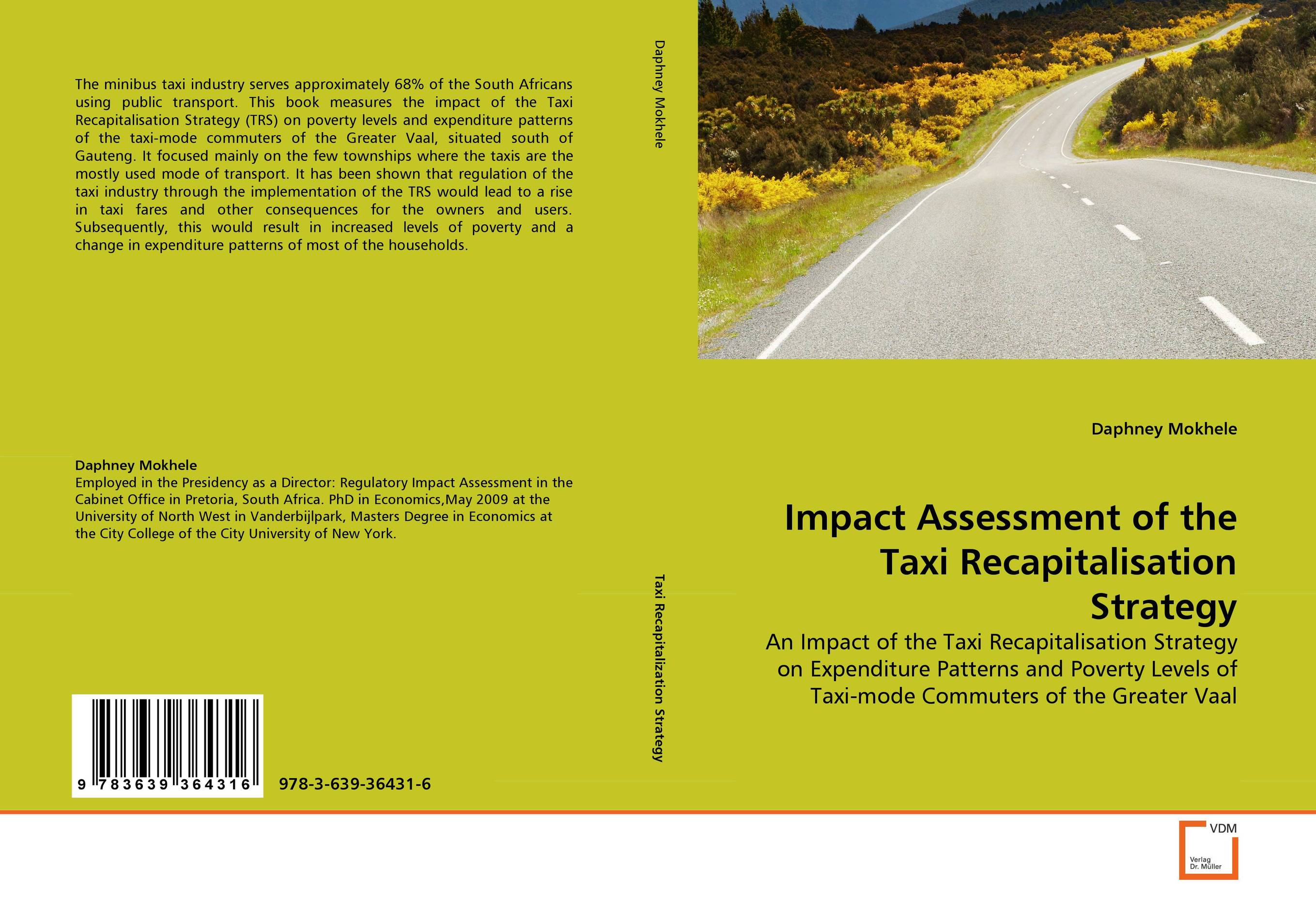 Impact Assessment of the Taxi Recapitalisation Strategy confessions of new york taxi driver eugene salomon