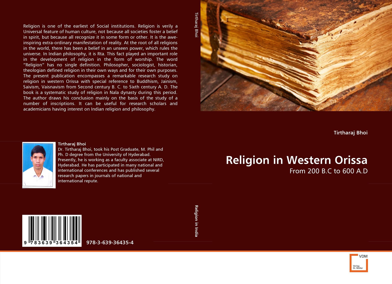 Religion in Western Orissa oxford studies in philosophy of religion volume 8