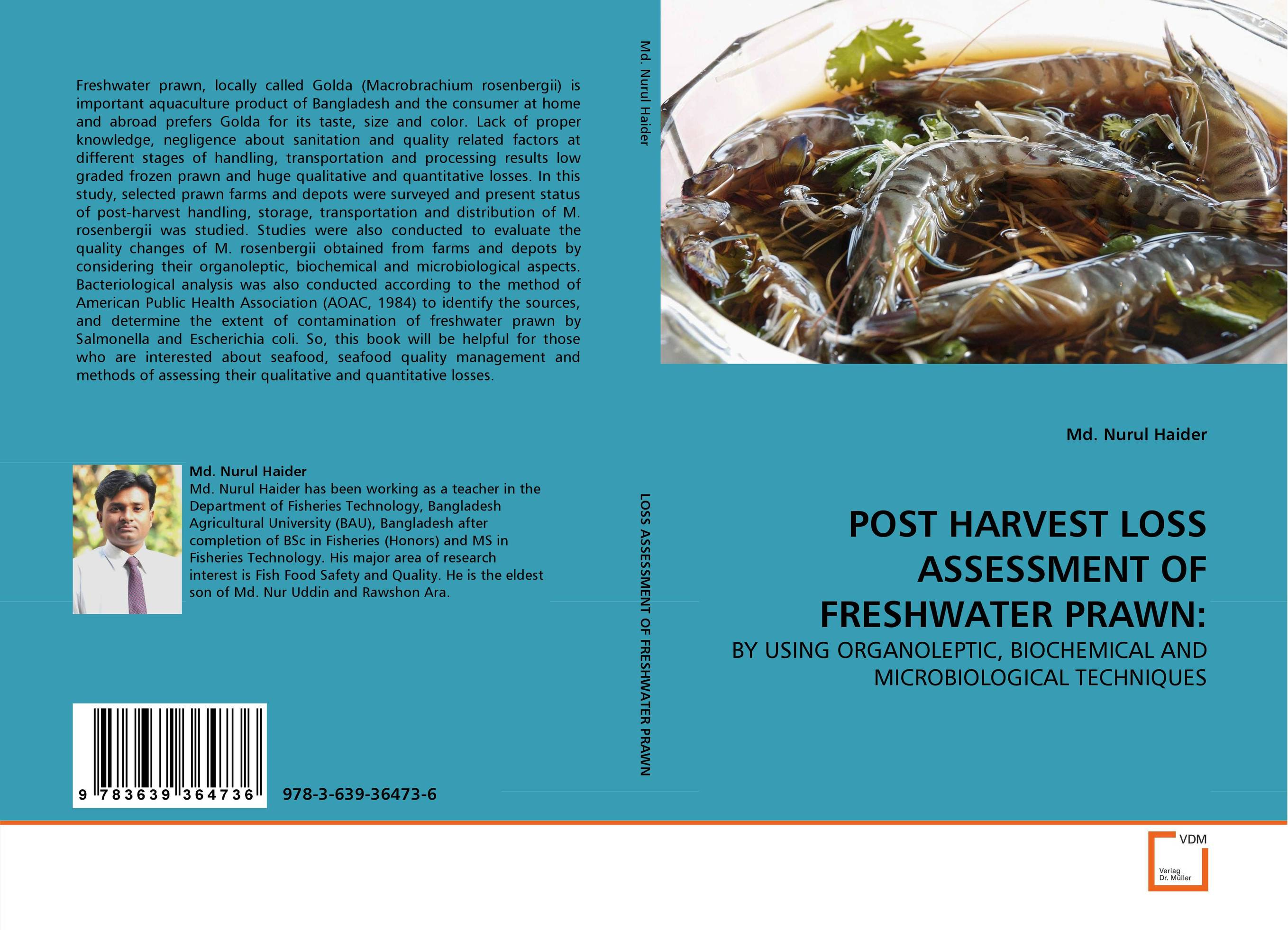 POST  HARVEST  LOSS  ASSESSMENT  OF  FRESHWATER  PRAWN: high pressure processing for the preservation of indian white prawn