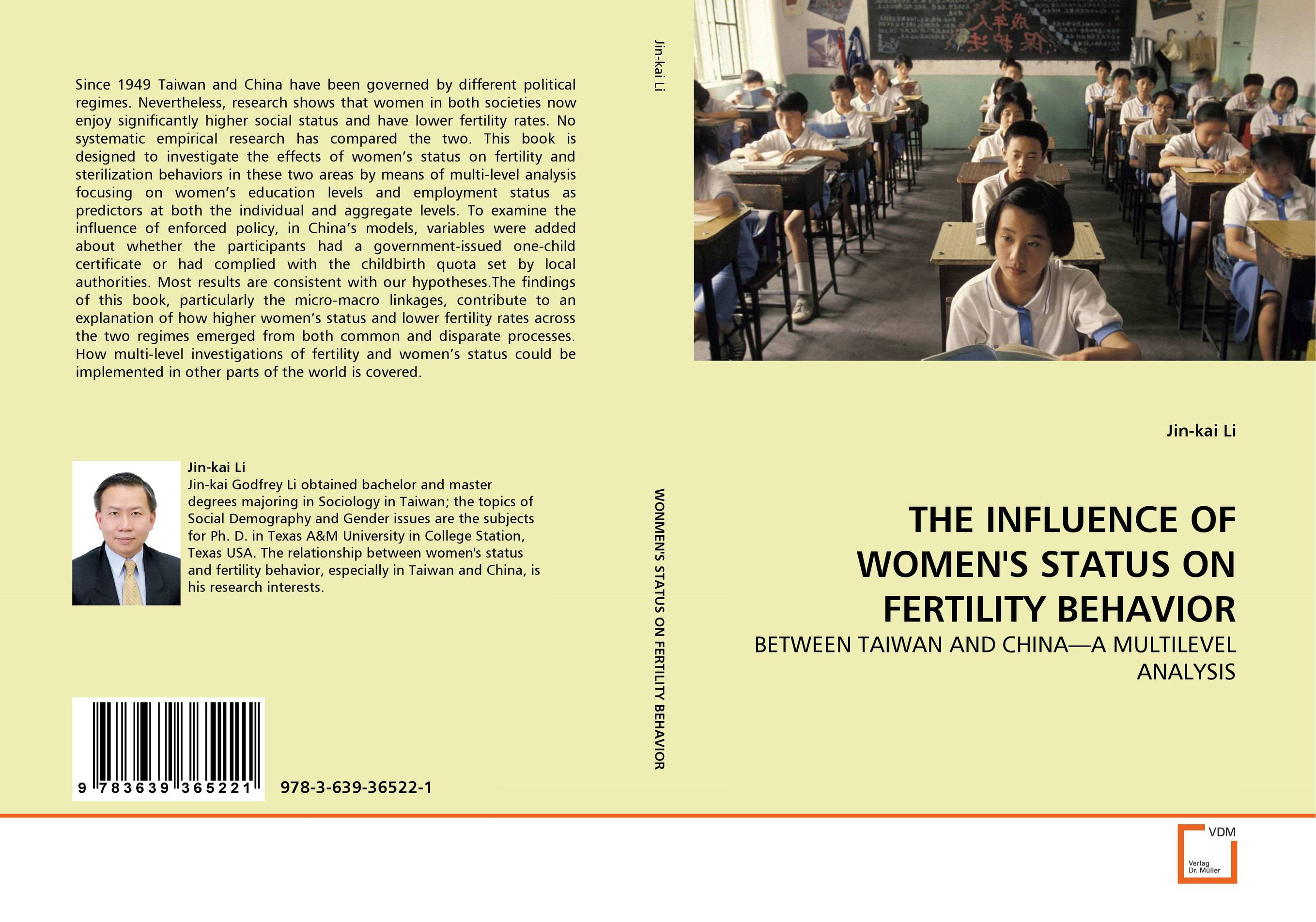 THE INFLUENCE OF WOMEN''S STATUS ON FERTILITY BEHAVIOR цена и фото