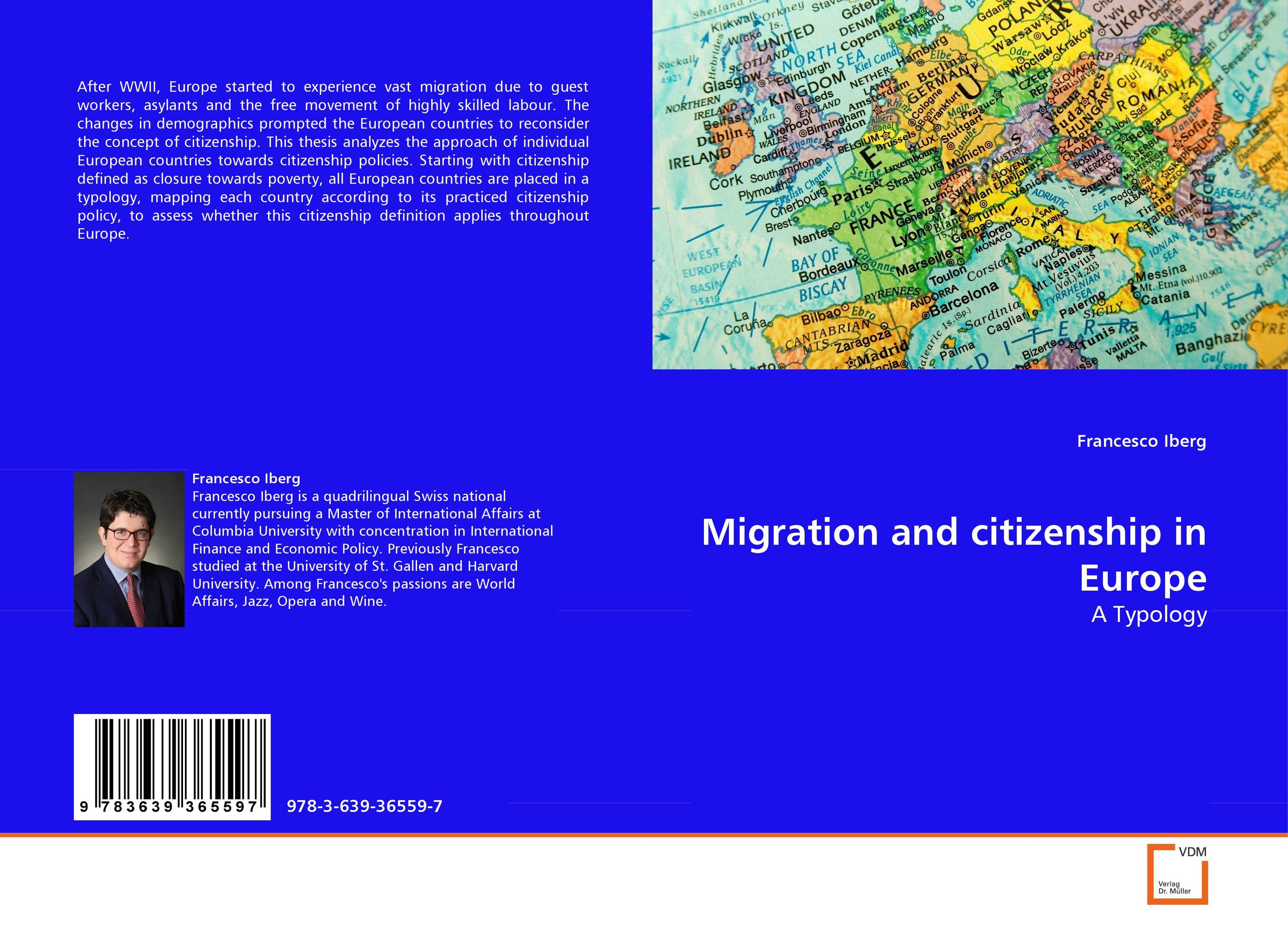 Migration and citizenship in Europe