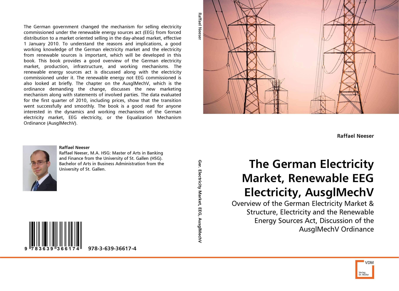 The German Electricity Market, Renewable EEG Electricity, AusglMechV market day