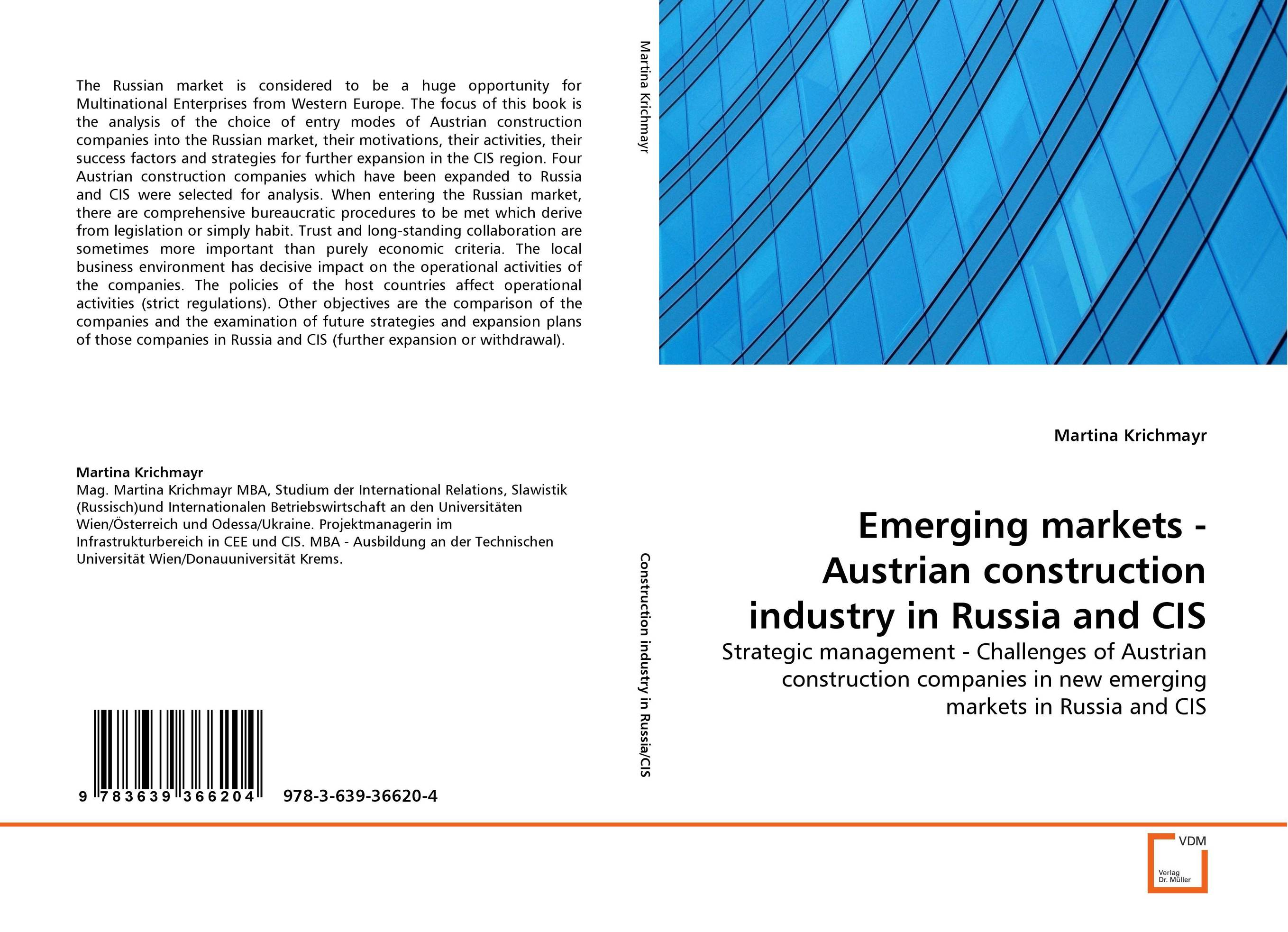 Emerging markets - Austrian construction industry in Russia and CIS