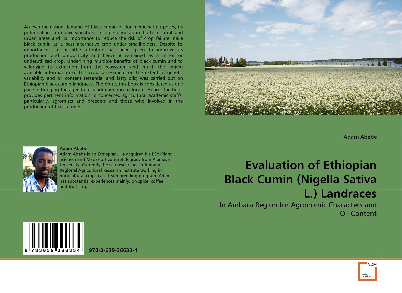 Evaluation of Ethiopian Black Cumin (Nigella Sativa L.) Landraces aresnic in crop ecosystem and potential health risk assessment