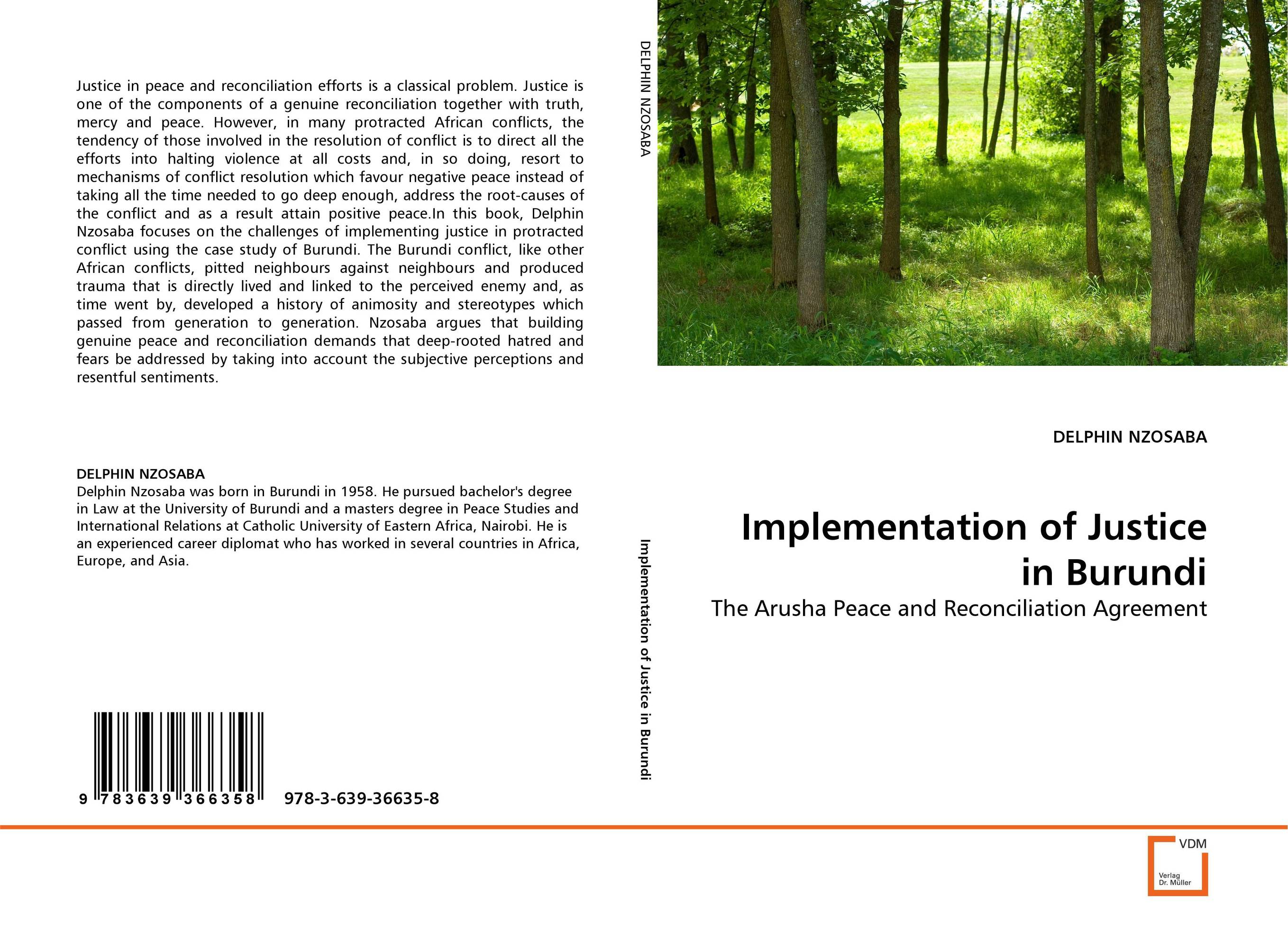 Implementation of Justice in Burundi transitional justice and reparations in burundi learning from others
