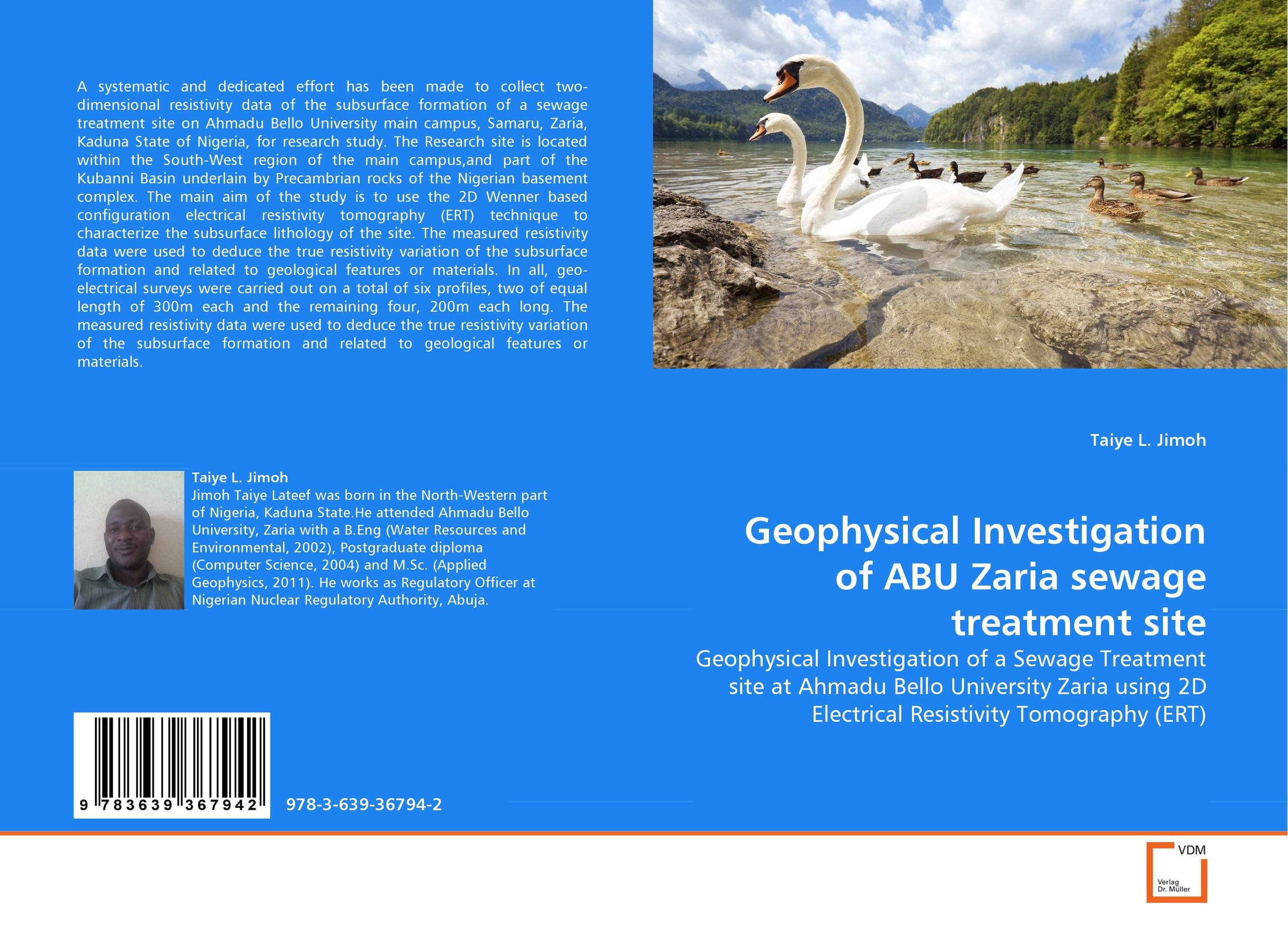 Geophysical Investigation of ABU Zaria sewage treatment site swapna nair and m r anantharaman investigation on the nanomagnetic materials and ferrofluids