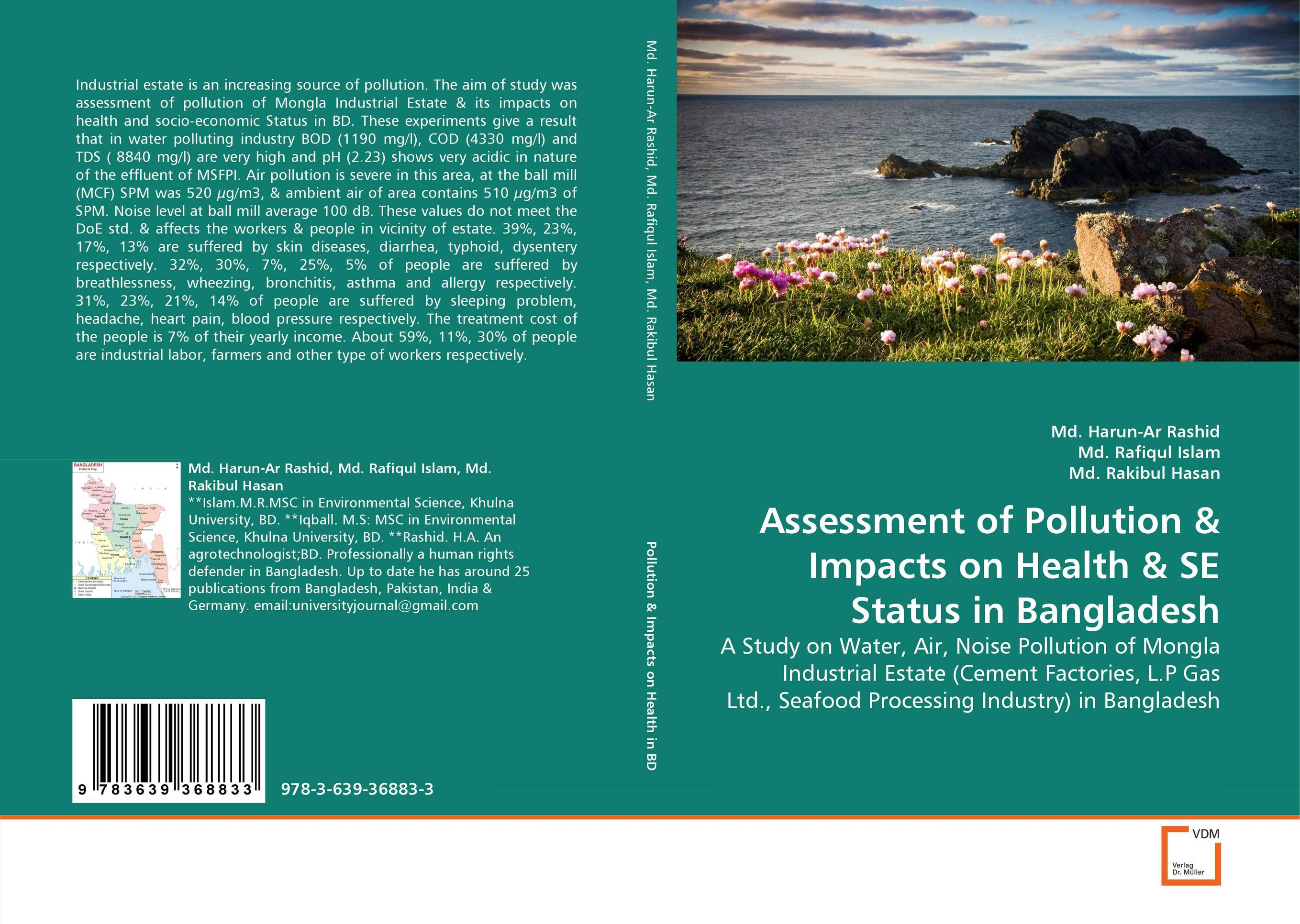 Assessment of Pollution & Impacts on Health & SE Status in  Bangladesh k mukerji mukerji assessment of delinquency – an examinati on of personality