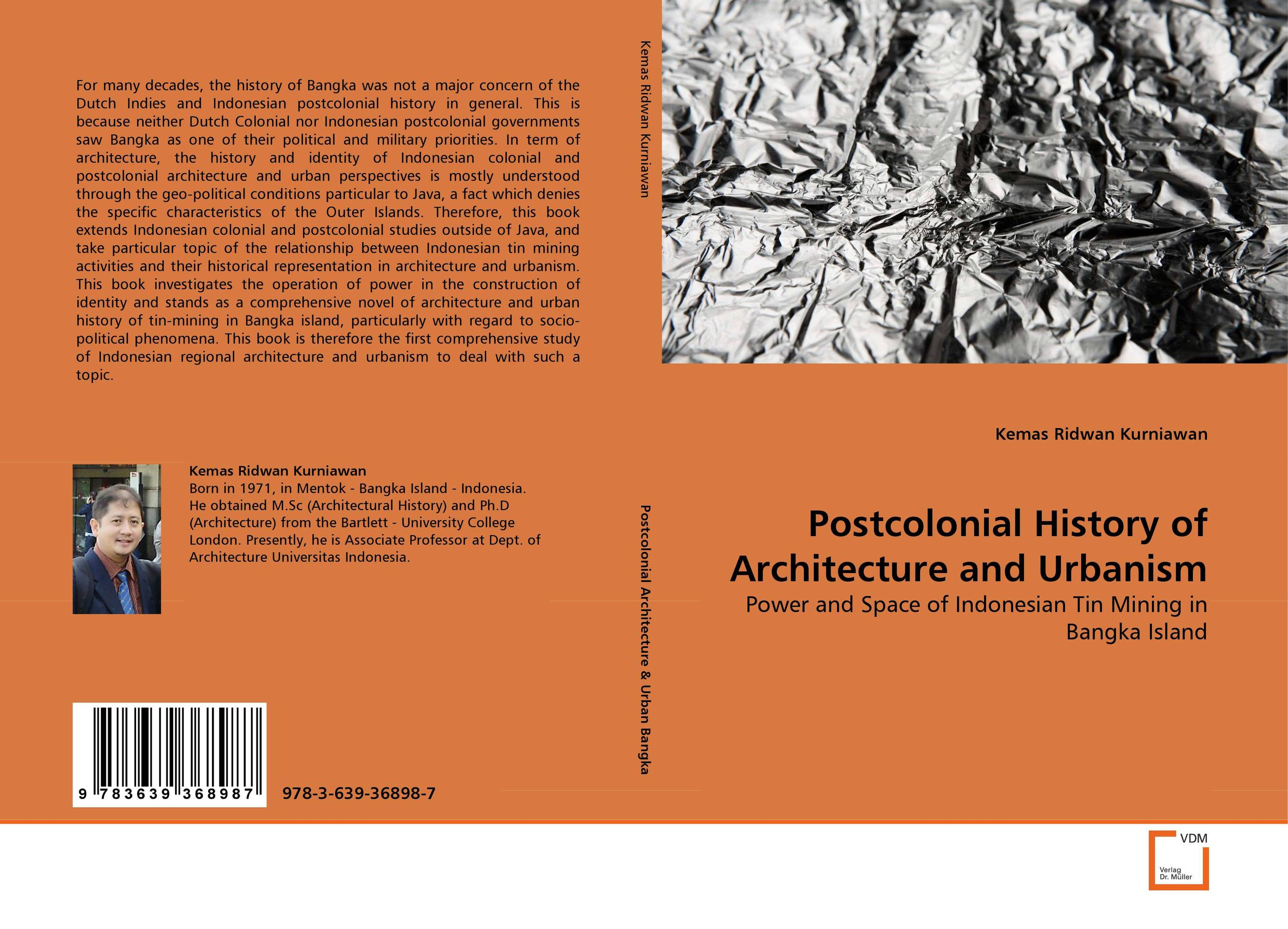 Postcolonial History of Architecture and Urbanism