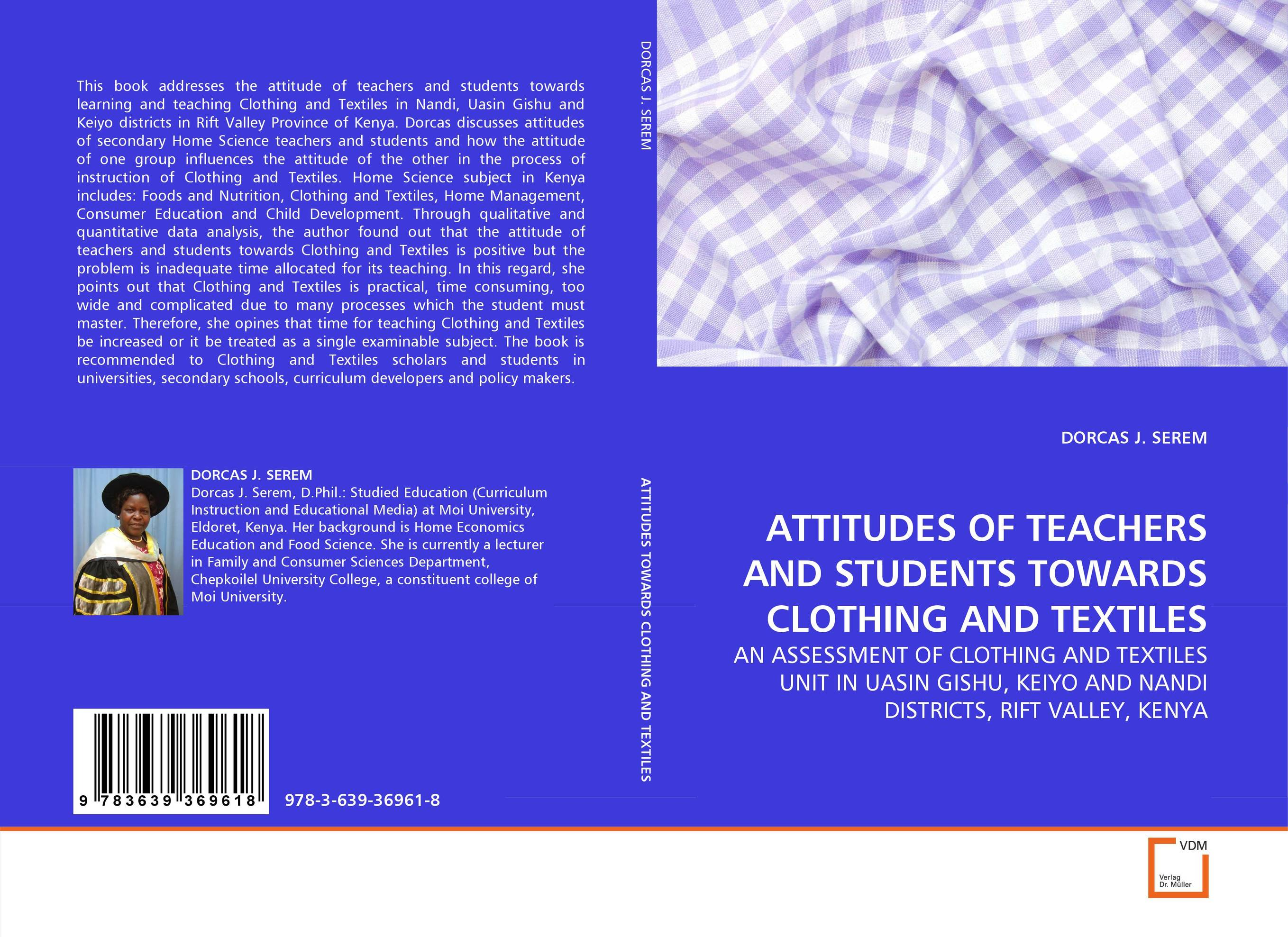 ATTITUDES OF TEACHERS AND STUDENTS TOWARDS CLOTHING AND TEXTILES natural dyes for textiles