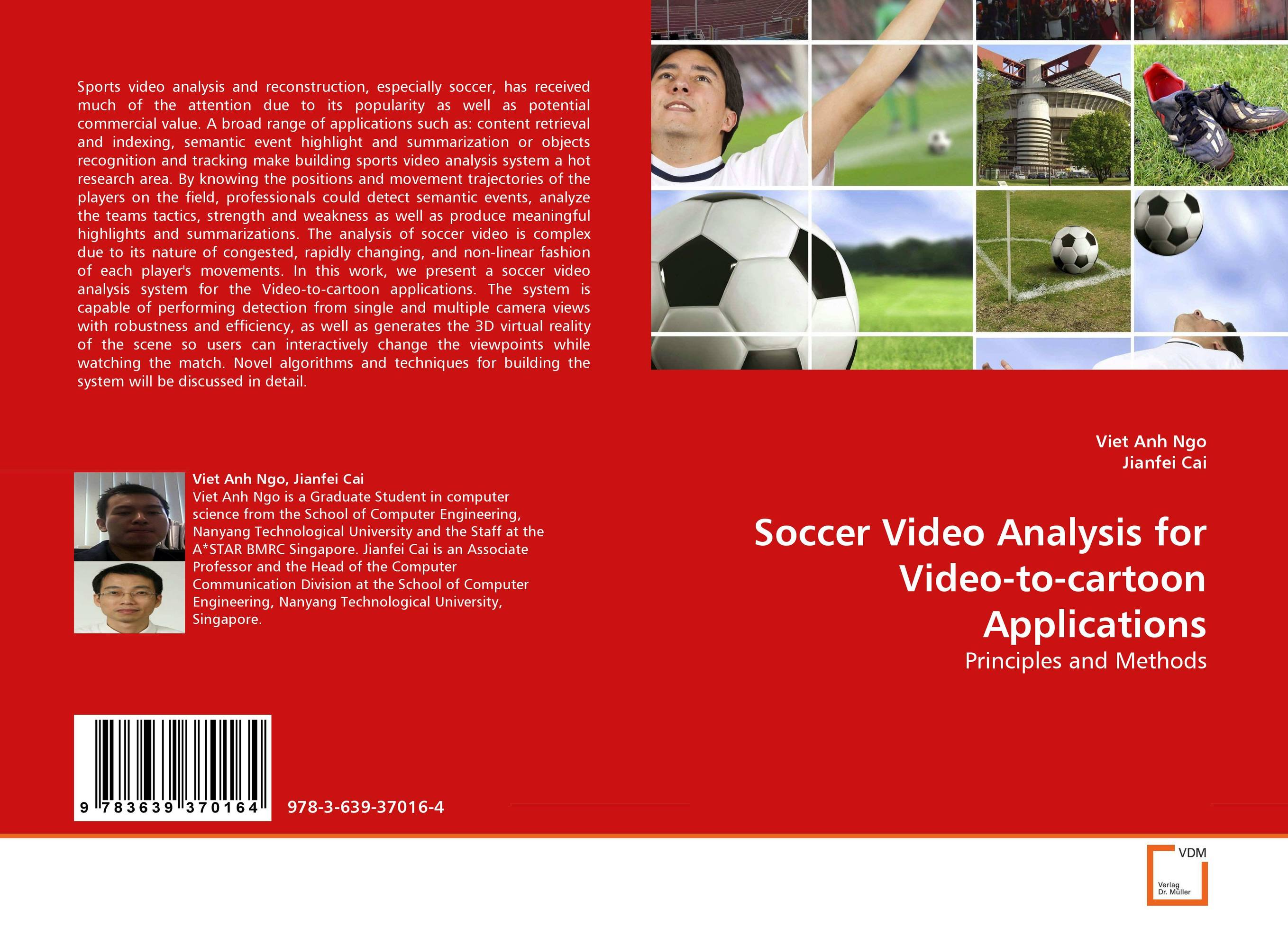 Soccer Video Analysis for Video-to-cartoon Applications the internal load analysis in soccer