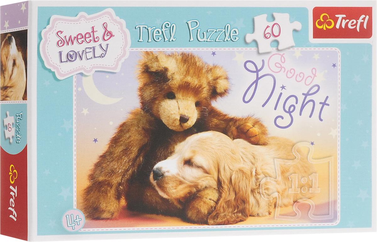 Trefl Пазл для малышей Сладкие и прекрасные Спокойной ночи trefl puzzle 500 зима коллаж 37242