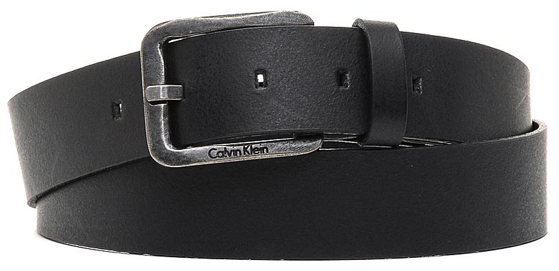 Ремень мужской Calvin Klein Jeans, цвет: черный. K50K501207_0010. Размер 95 ремень женский calvin klein цвет черный k60k602122 0010 размер 95