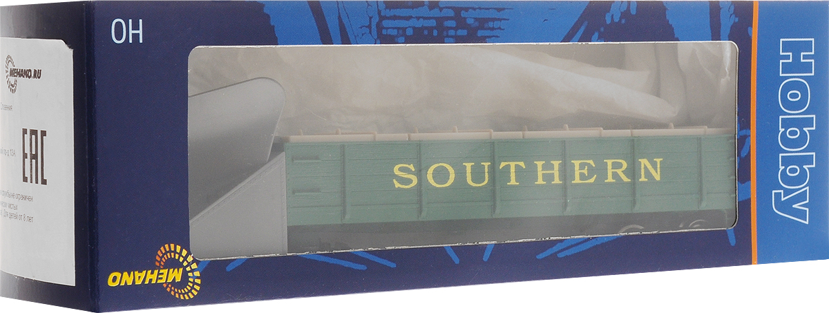 Mehano вагон снежный плуг Southern вагон с бревнами