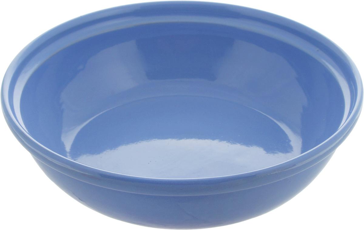 """Салатник Борисовская керамика """"Модерн"""" выполнен из высококачественной глазурованнойкерамики. Этот удобный салатник придется по вкусу любителям здоровой и полезной пищи.Посуда термостойкая. Можно использовать в духовке и микроволновой печи."""