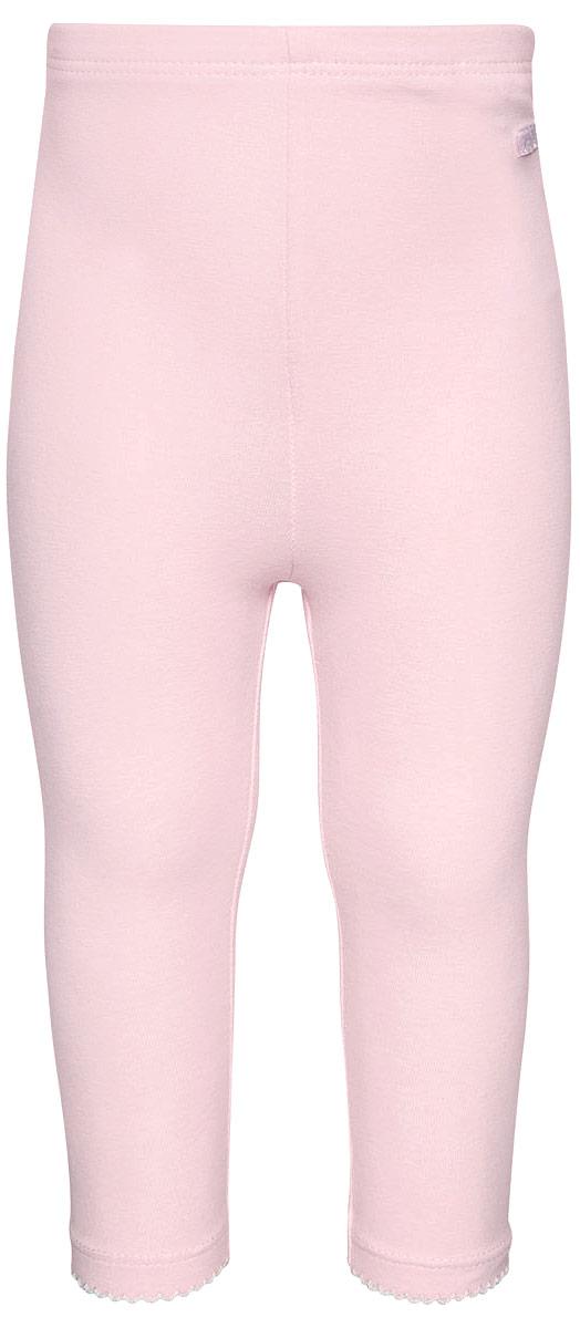 Леггинсы для девочки Tom Tailor, цвет: розовый. 6829127.00.21_4540. Размер 806829127.00.21_4540Леггинсы для девочки Tom Tailor выполнены из хлопка с добавлением эластана. Модель облегающего кроя с эластичным поясом.