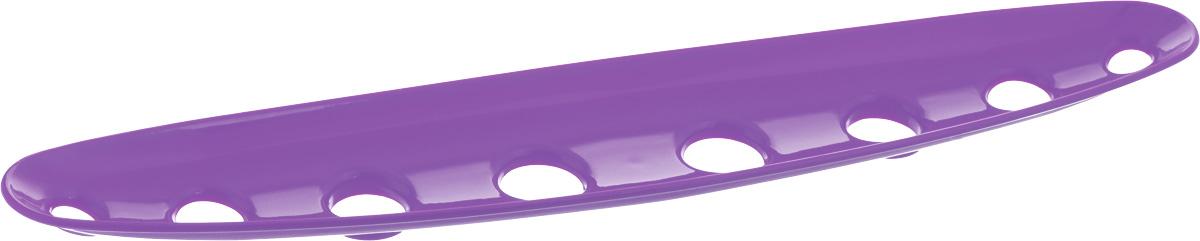 Миска для фруктов и овощей Tescoma Vitamino, продольная, цвет: фиолетовый, 45 х 9 х 3 см642788_фиолетовыйПродольная миска Tescoma Vitamino выполнена из высококачественного прочного пластика. Изделие прекрасно подходит для хранения свежих фруктов и овощей, например, яблок, груш, слив, мандаринов, помидоров, а также для ополаскивания их под проточной водой. Миска оснащена большими отверстиями для максимального доступа воздуха к хранимым продуктам. Фрукты и овощи в таком изделии дозревают естественным путем и дольше остаются свежими.Подходит для холодильника и посудомоечной машины.Размер миски: 45 х 9 х 3 см.