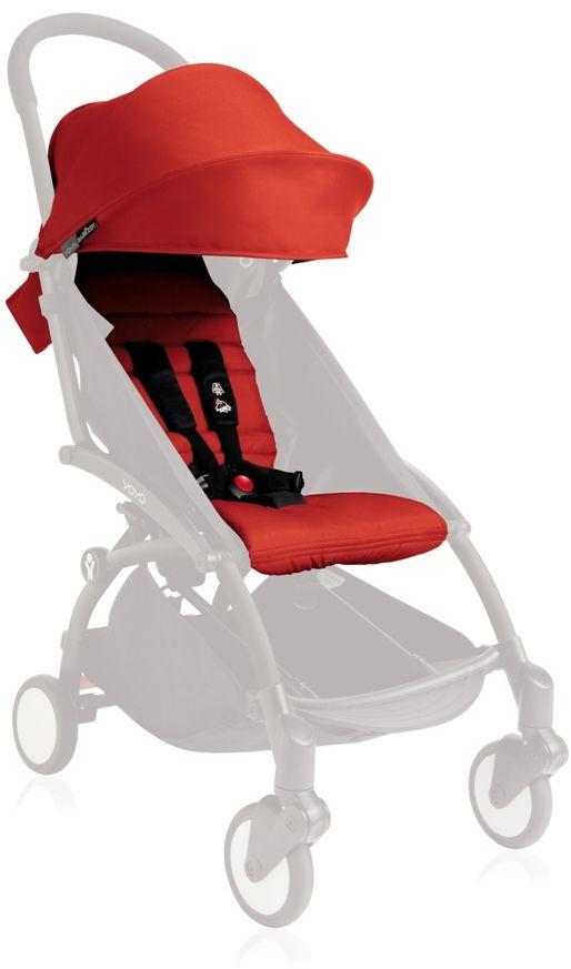 Babyzen Капюшон и сиденье для коляски YoYo цвет красный -  Коляски и аксессуары