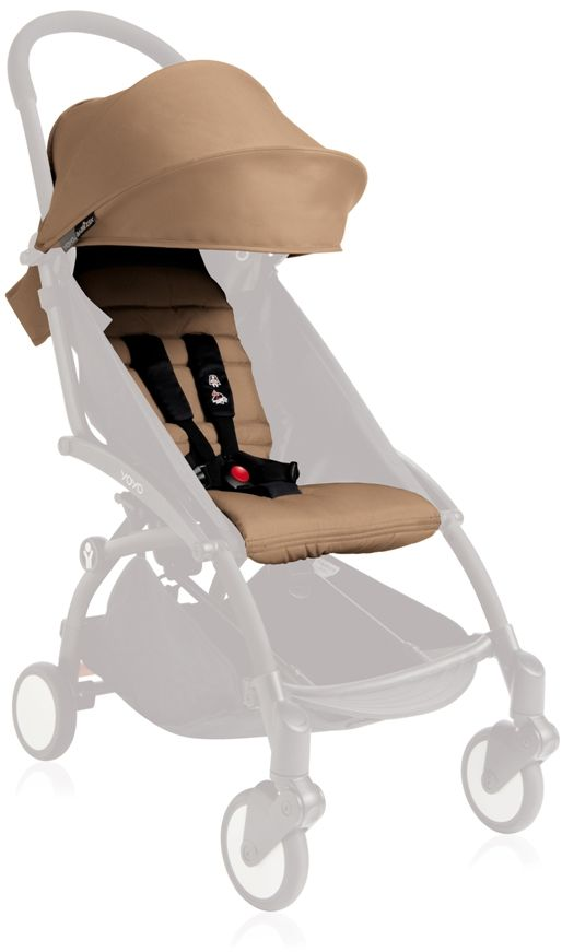 Babyzen Капюшон и сиденье для коляски YoYo цвет кротовый - Коляски и аксессуары