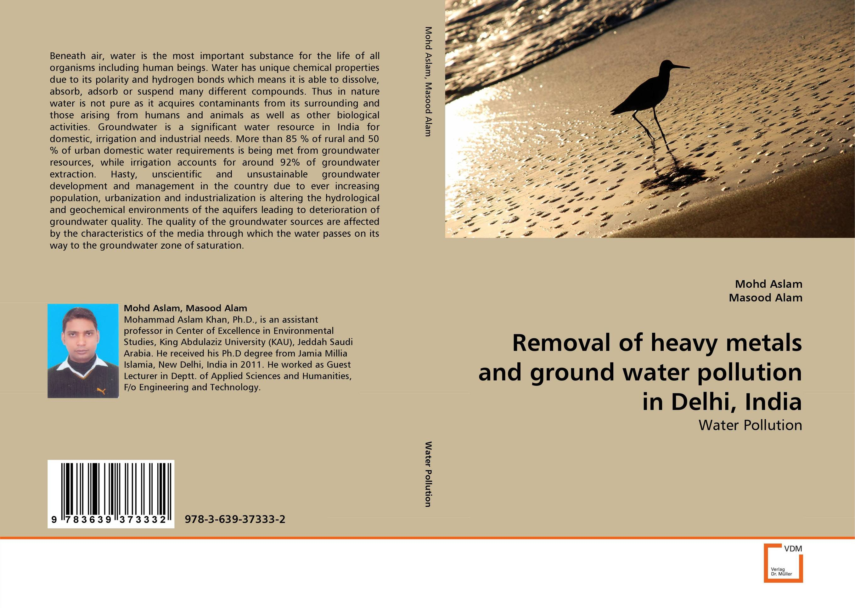 Removal of heavy metals and ground water pollution in Delhi, India купить