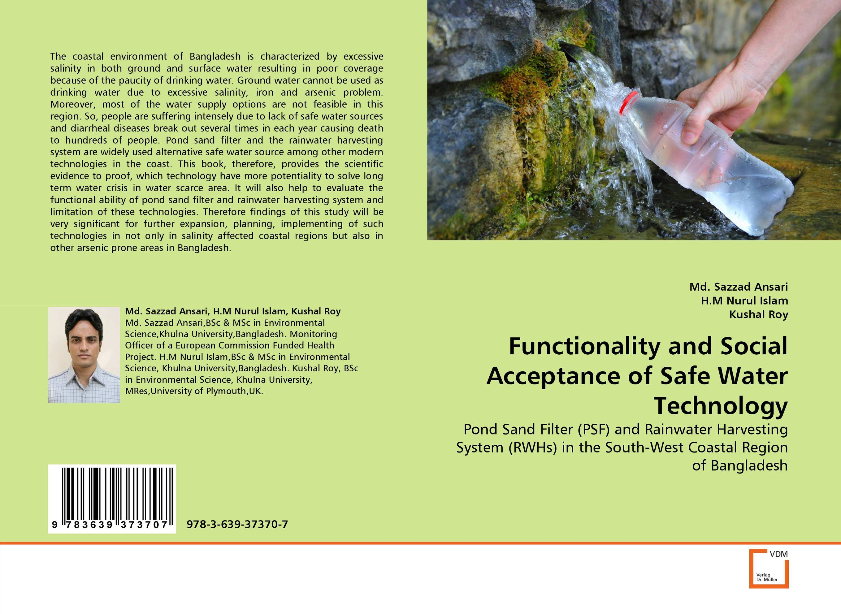 Functionality and Social Acceptance of Safe Water Technology bride of the water god v 3