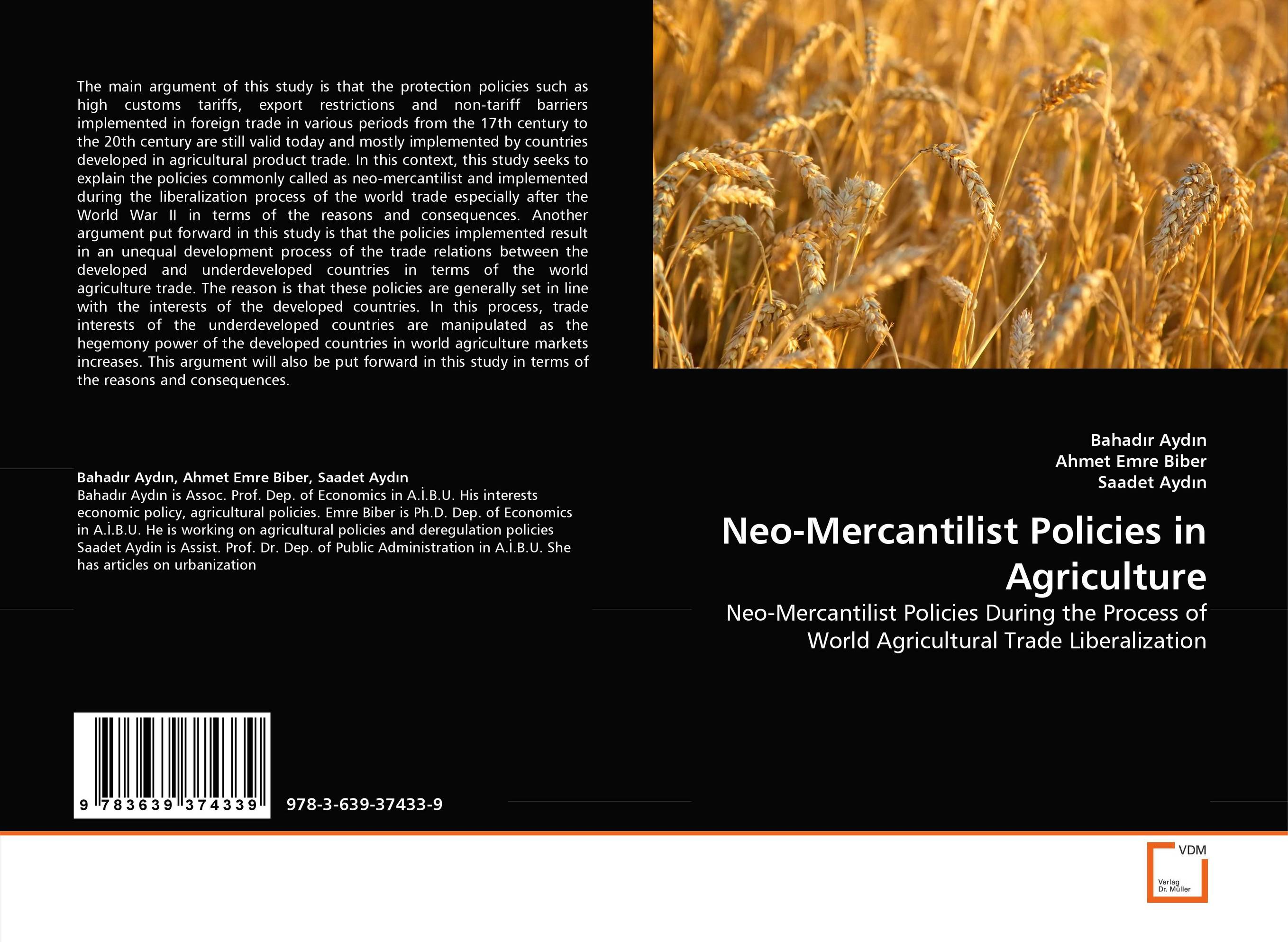 Neo-Mercantilist Policies in Agriculture