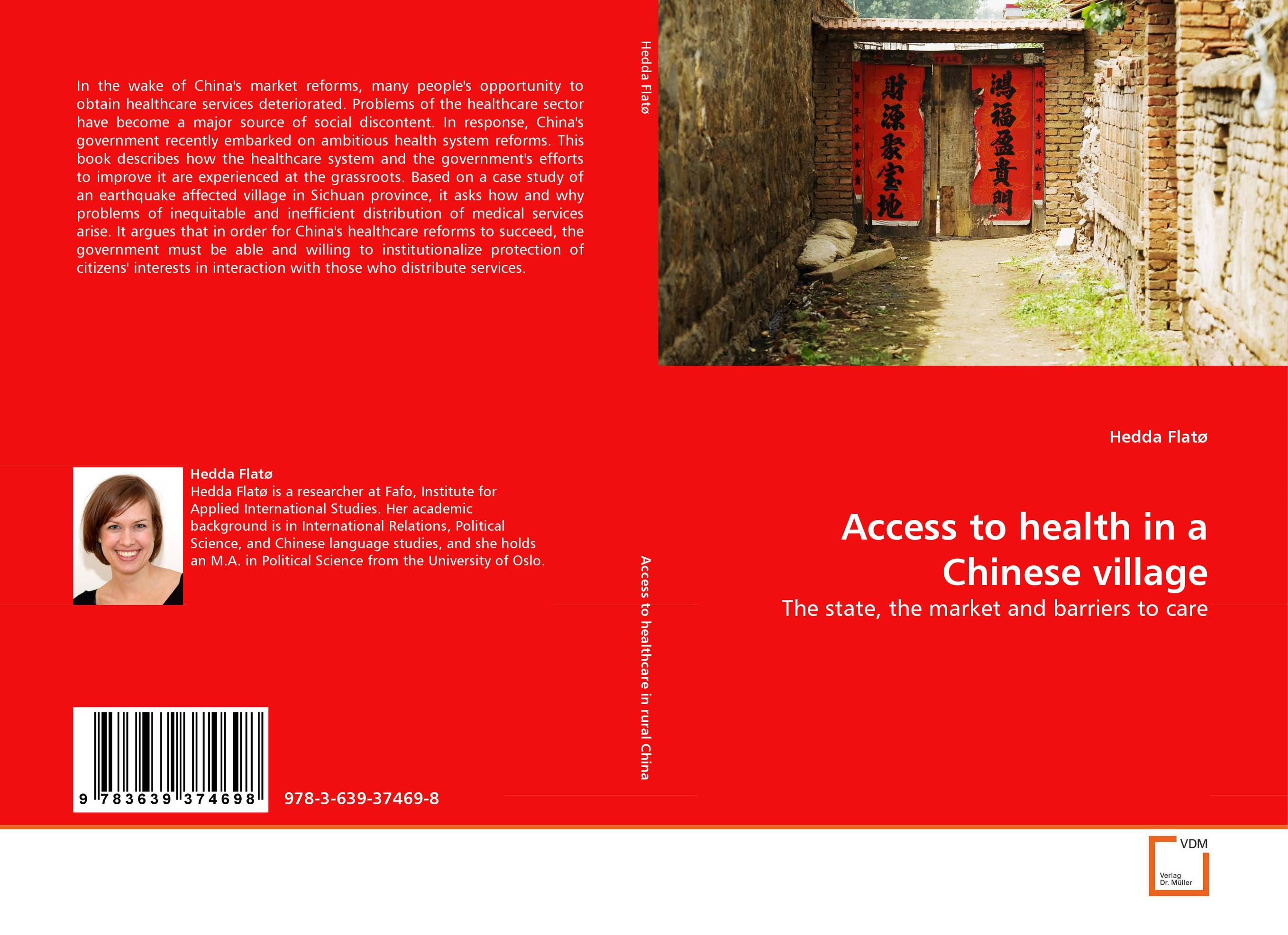 Access to health in a Chinese village a comparative study of public and private healthcare services