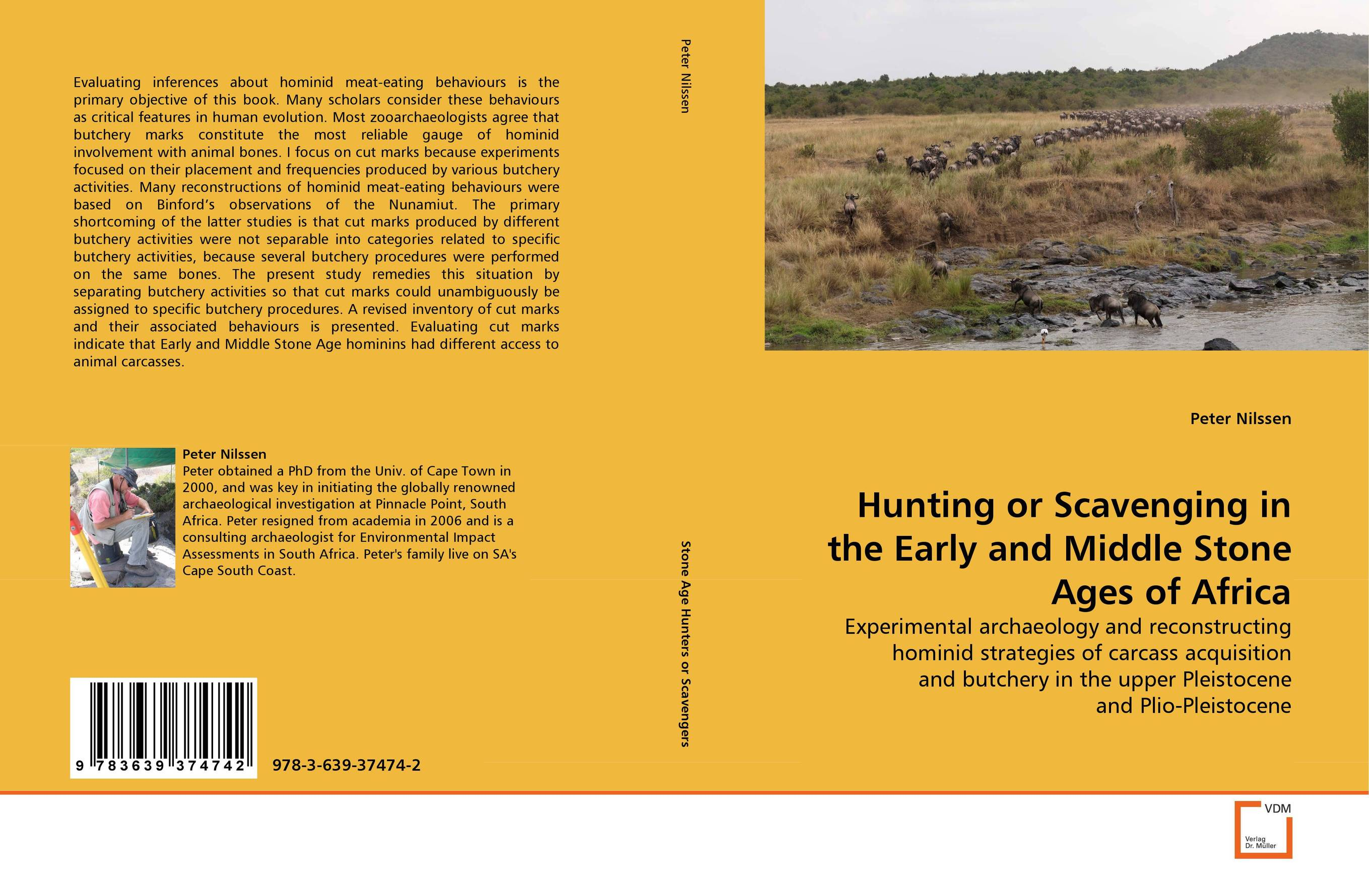 Hunting or Scavenging in the Early and Middle Stone Ages of Africa neuroethological studies on the scorpion's circadian activities