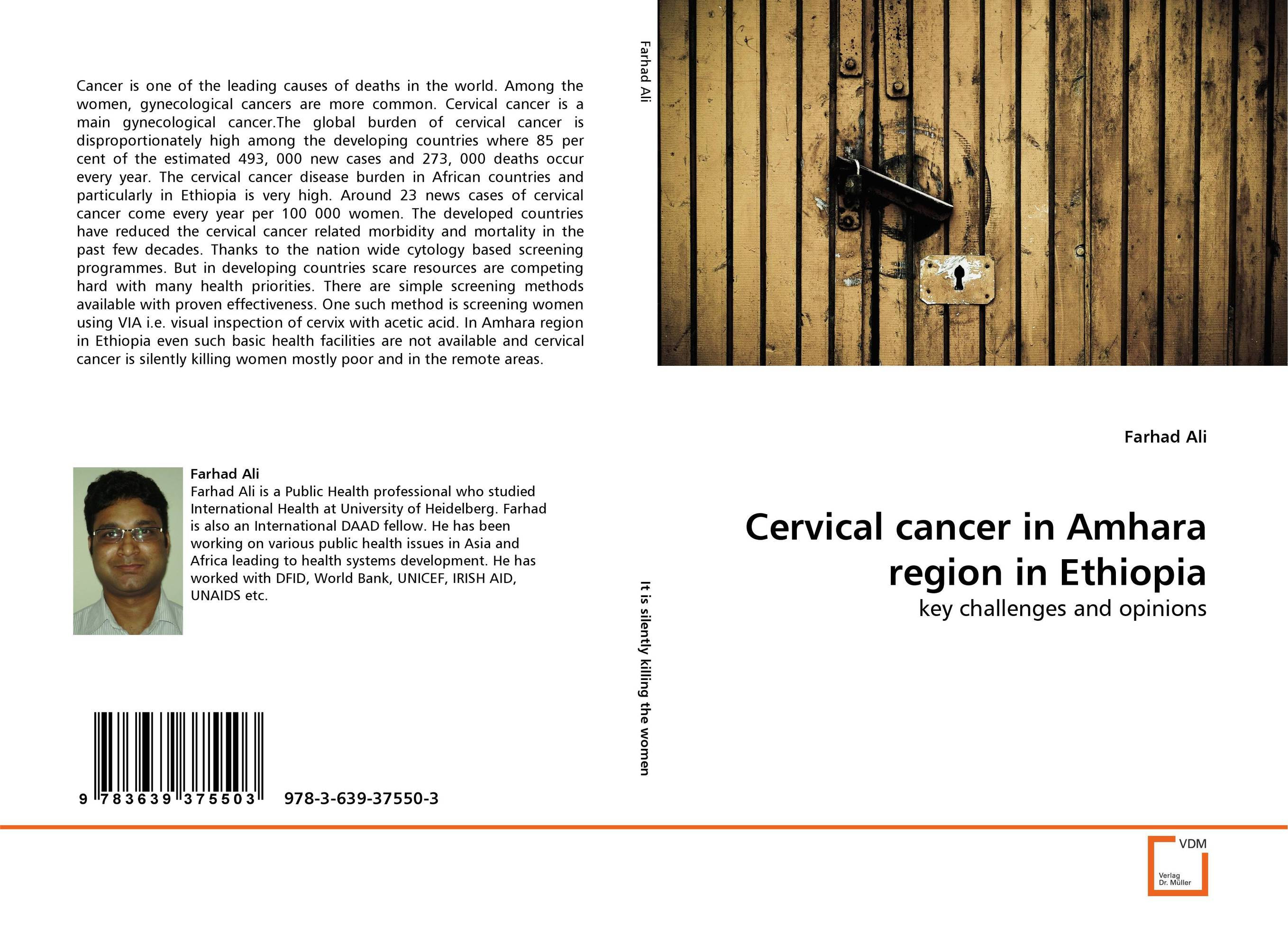 Cervical cancer in Amhara region in Ethiopia late stage diagnosis of cervical cancer