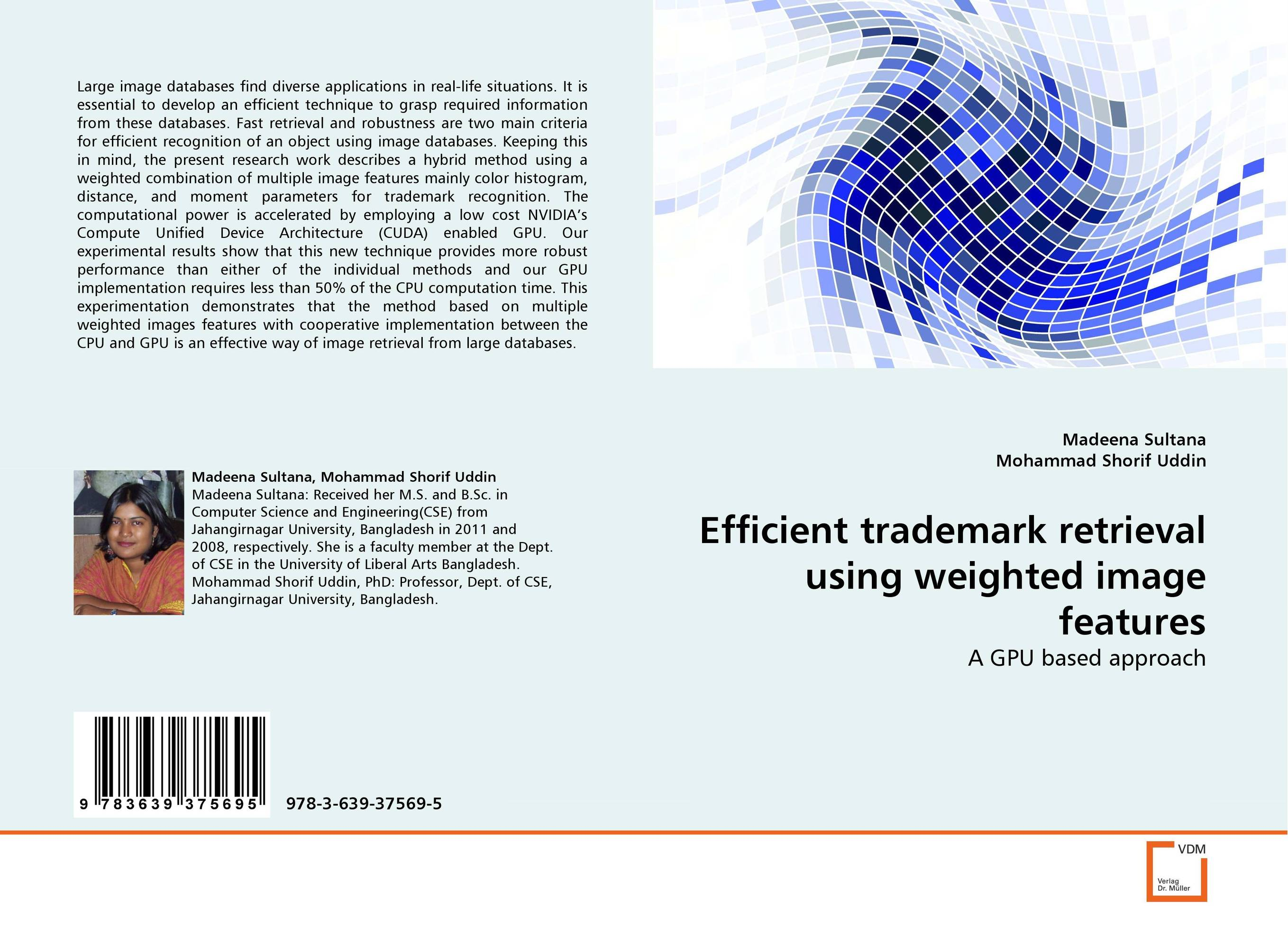 Efficient trademark retrieval using weighted image features