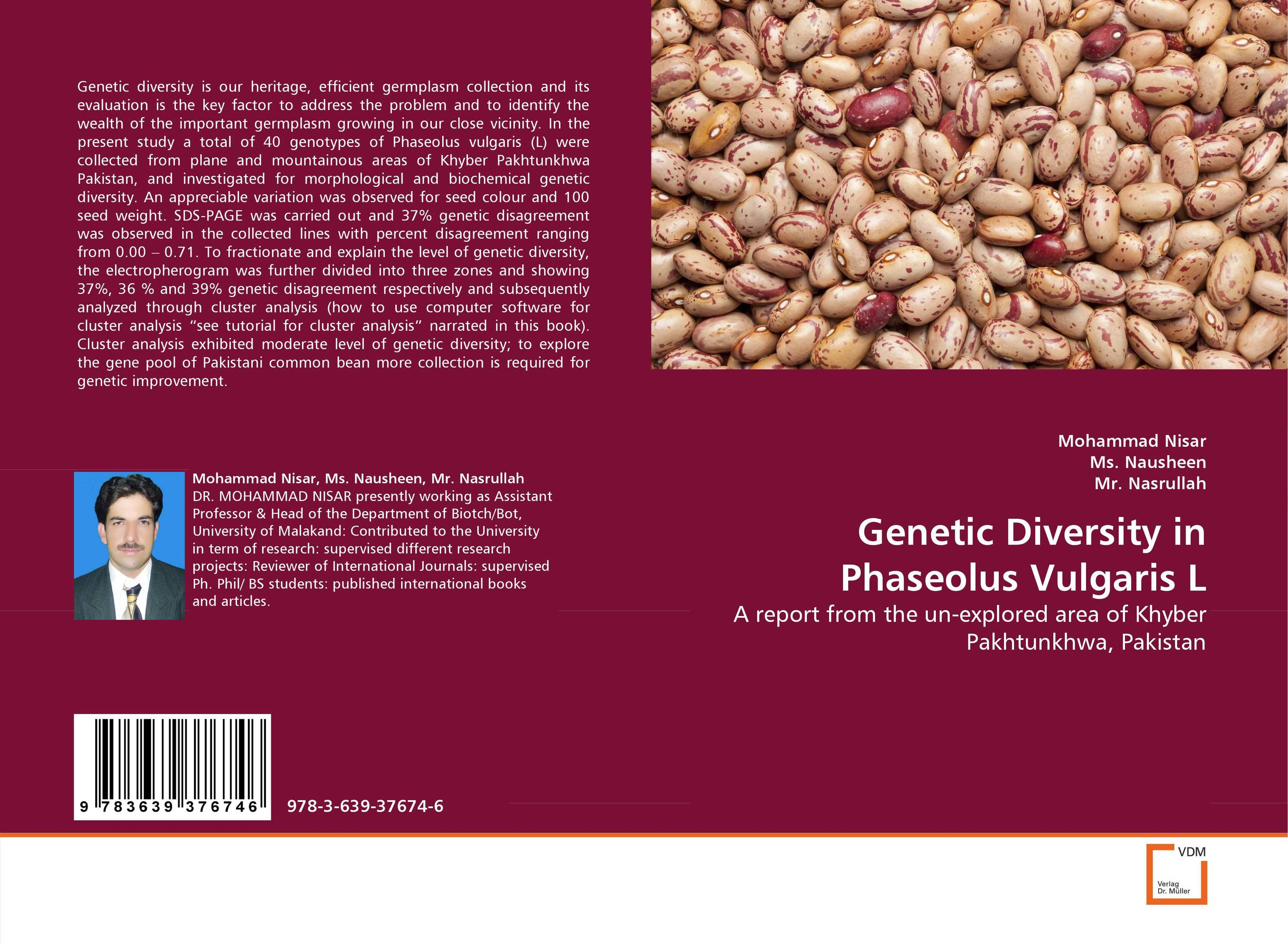 Genetic Diversity in Phaseolus Vulgaris L genetic diversity in linseed