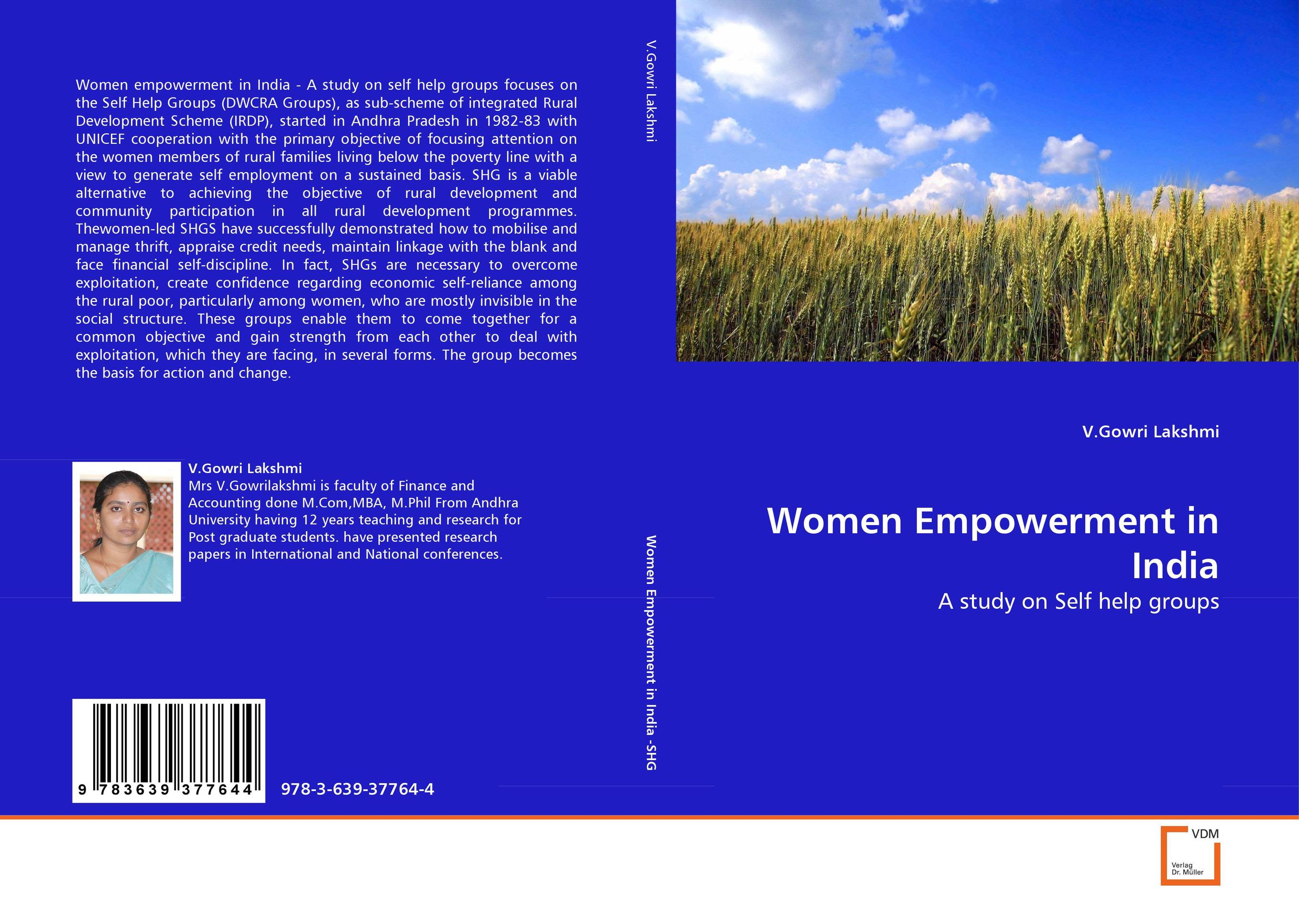 Women Empowerment in India women empowerment through self help groups in rural areas
