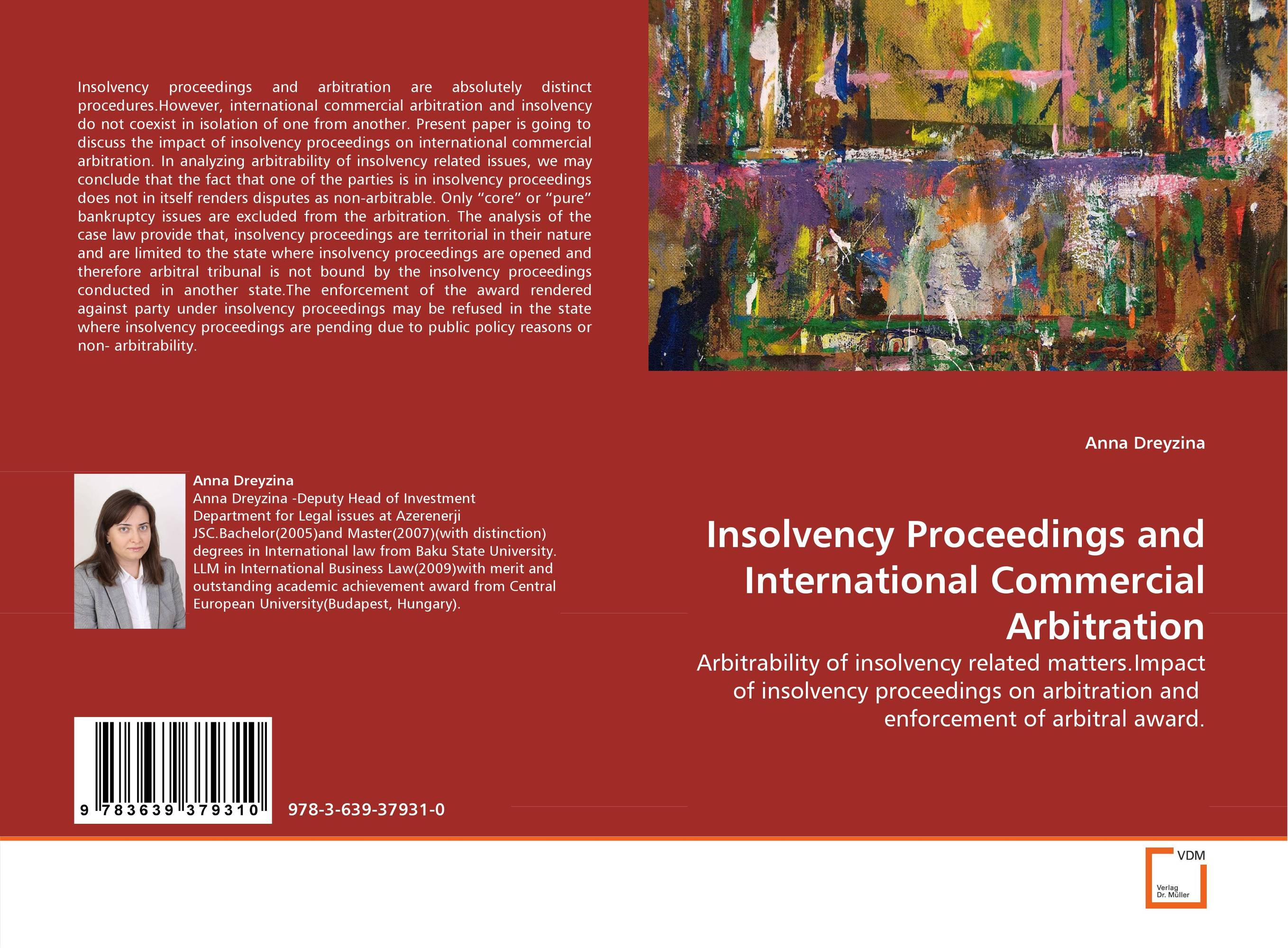 Insolvency Proceedings and International Commercial Arbitration
