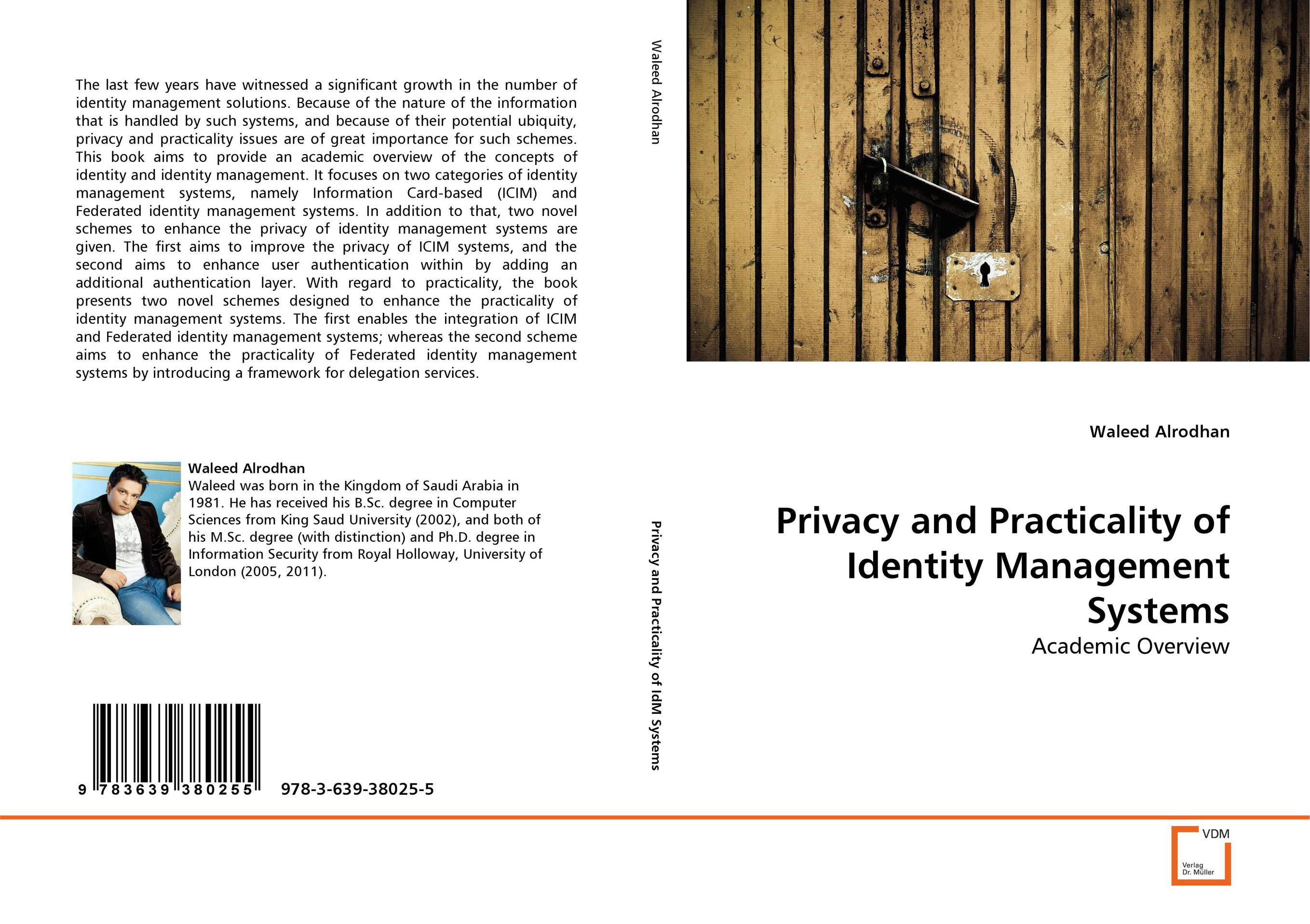 Privacy and Practicality of Identity Management Systems the identity of the i of the confessions of jeremiah