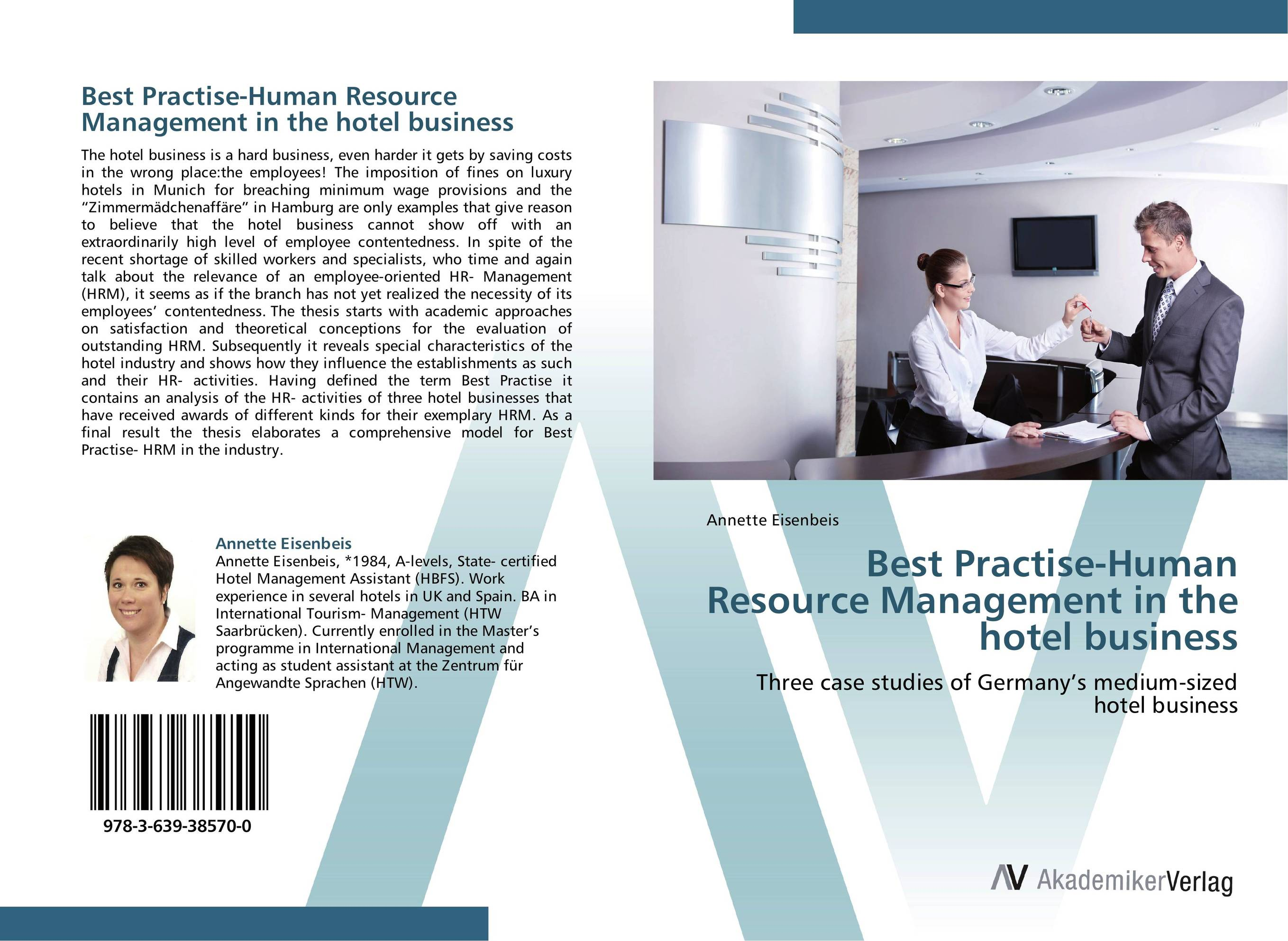 Best Practise-Human Resource Management in the hotel business