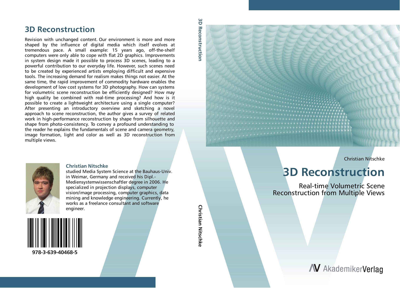 3D Reconstruction 3d object reconstruction using computer vision