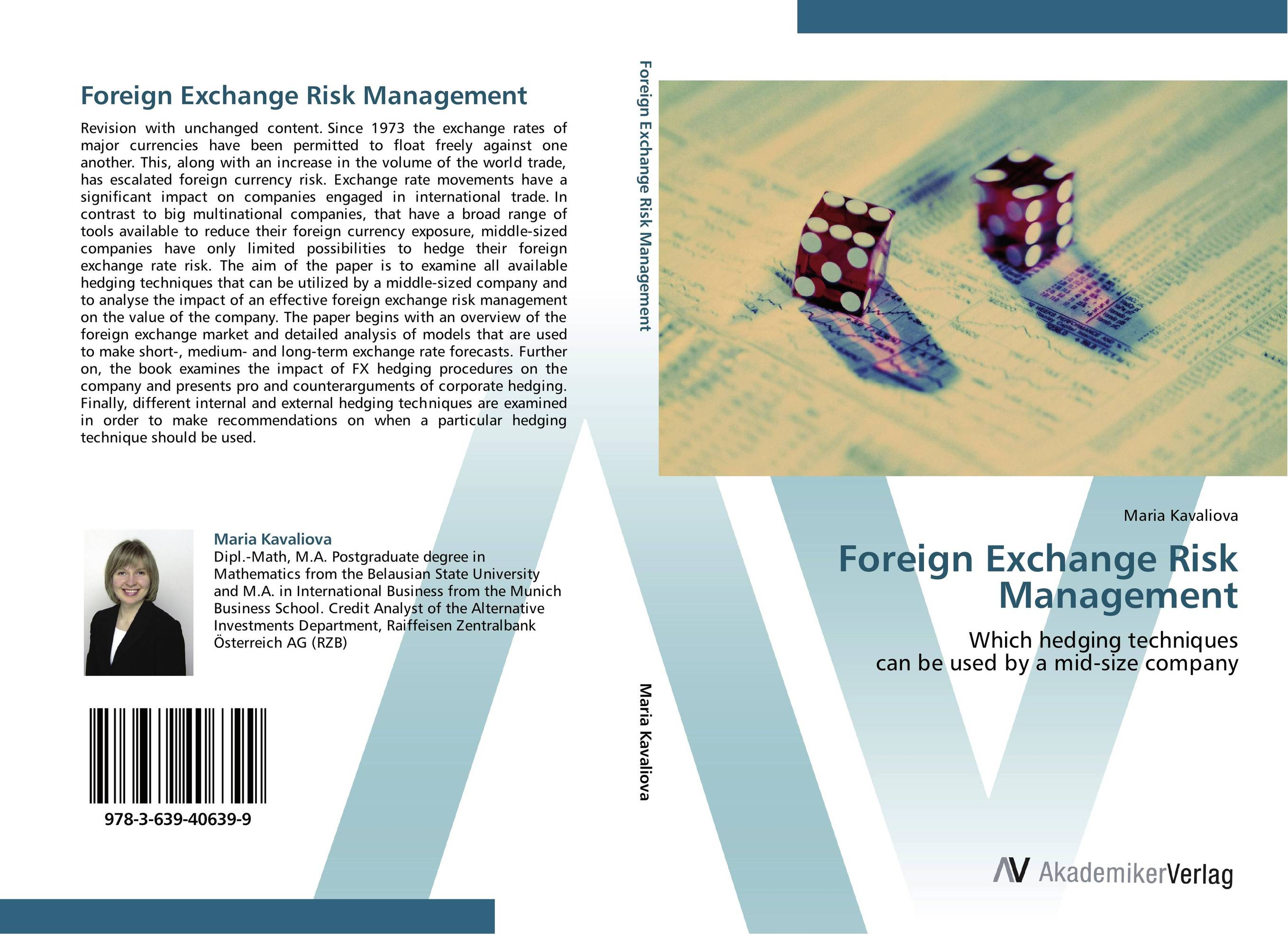 Foreign Exchange Risk Management moorad choudhry fixed income markets management trading and hedging