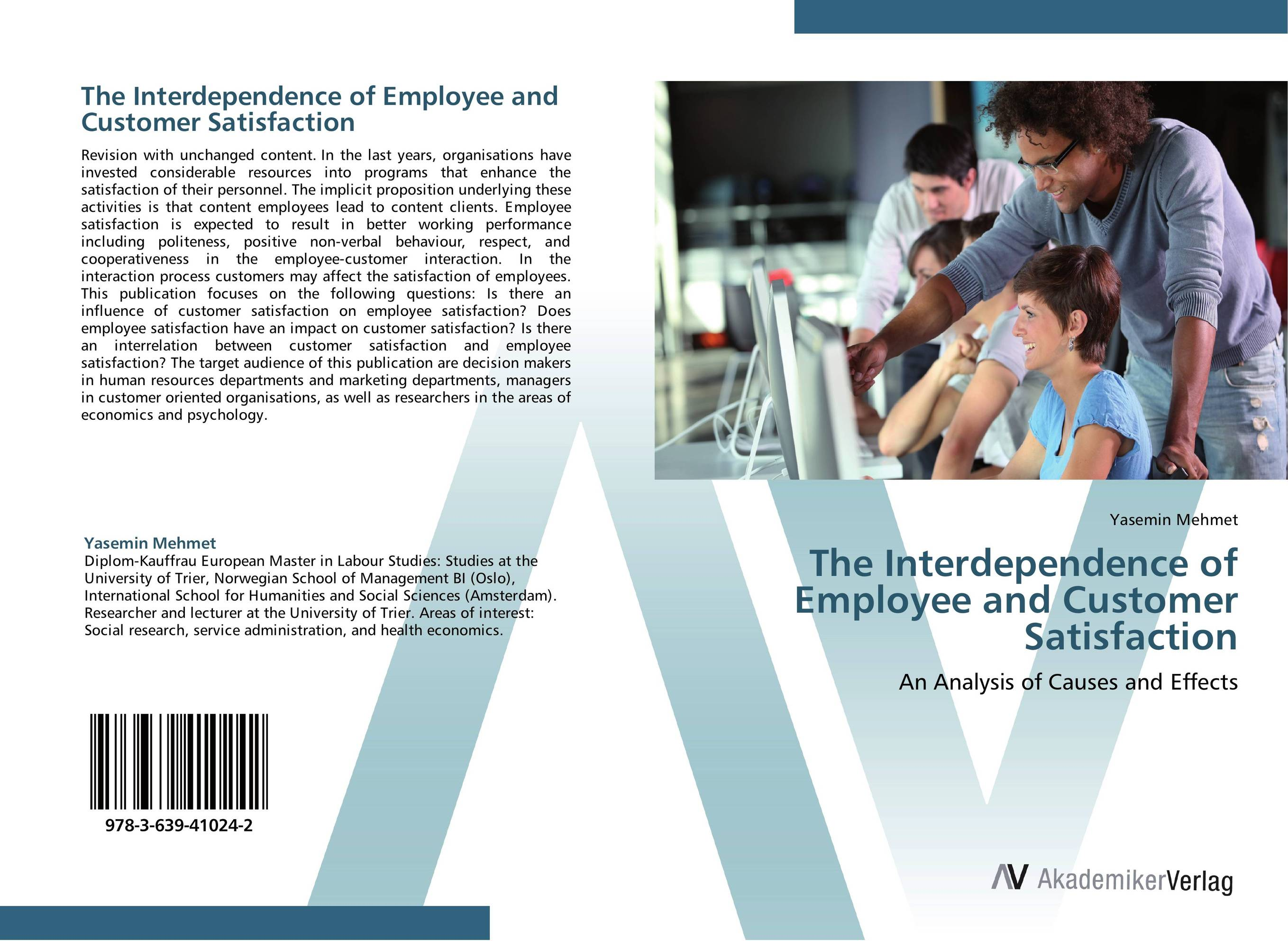 The Interdependence of Employee and Customer Satisfaction impact of job satisfaction on turnover intentions