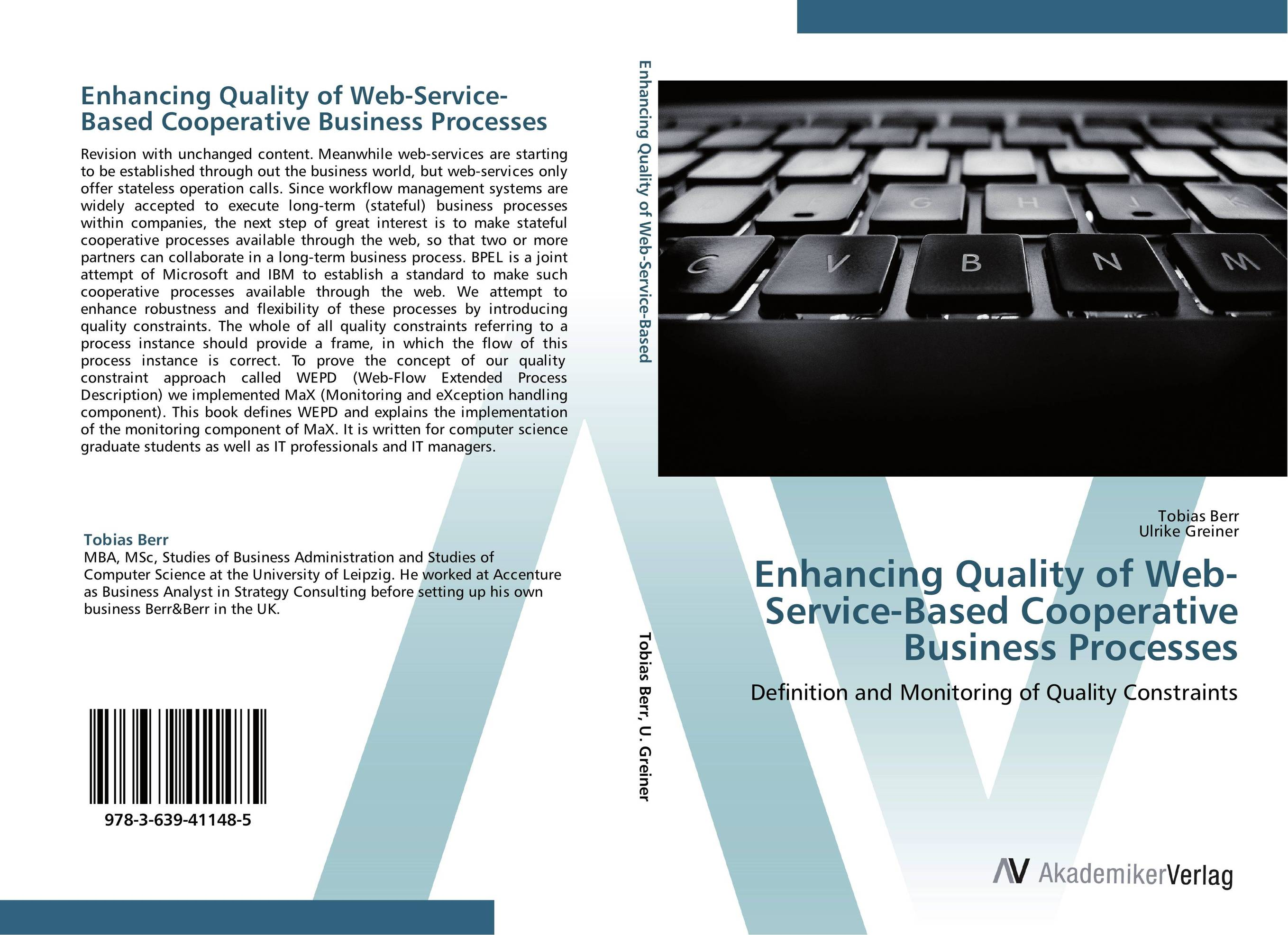 Enhancing Quality of Web-Service-Based Cooperative Business Processes overview of web based business
