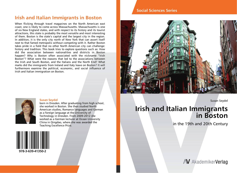 Irish and Italian Immigrants in Boston italian visual phrase book